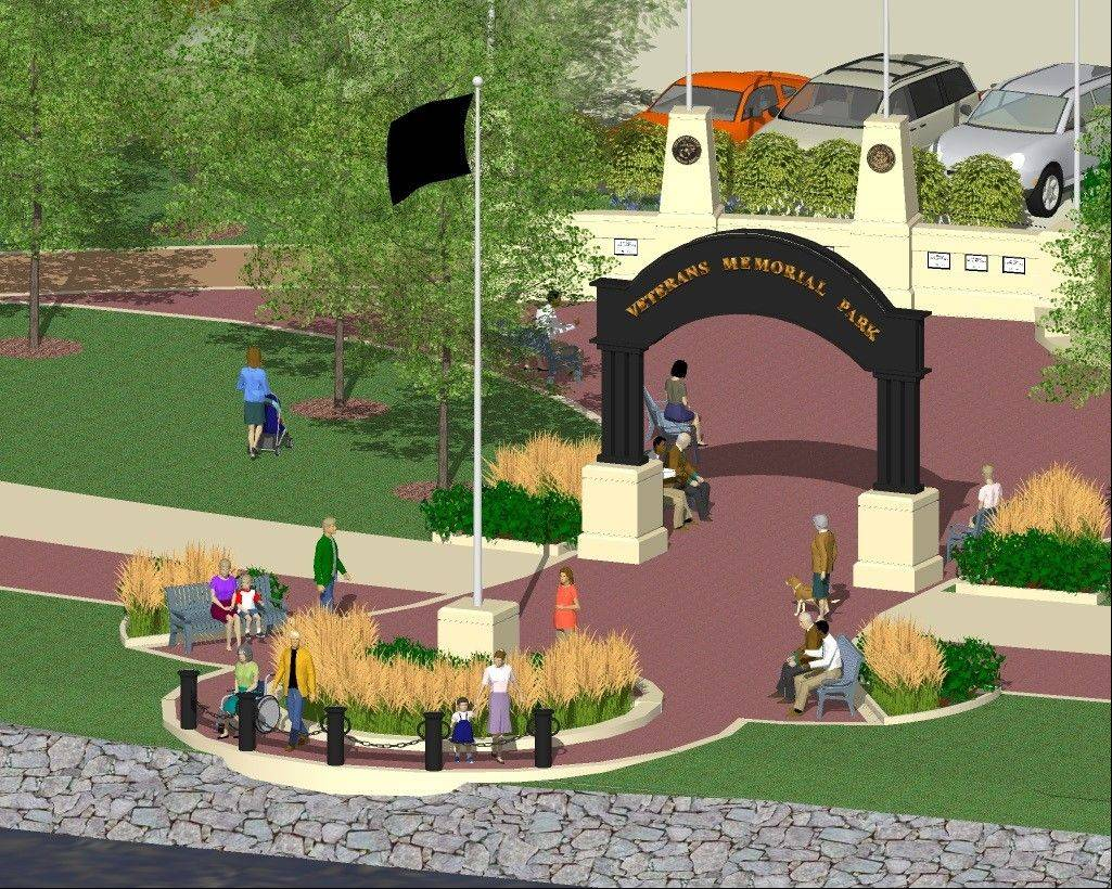 "The proposed ""Phase II,"" or waterfront addition, to the Elgin Veterans Memorial Park will make waterfront services more dignified and stand as a year-round tribute to veterans interred at sea."