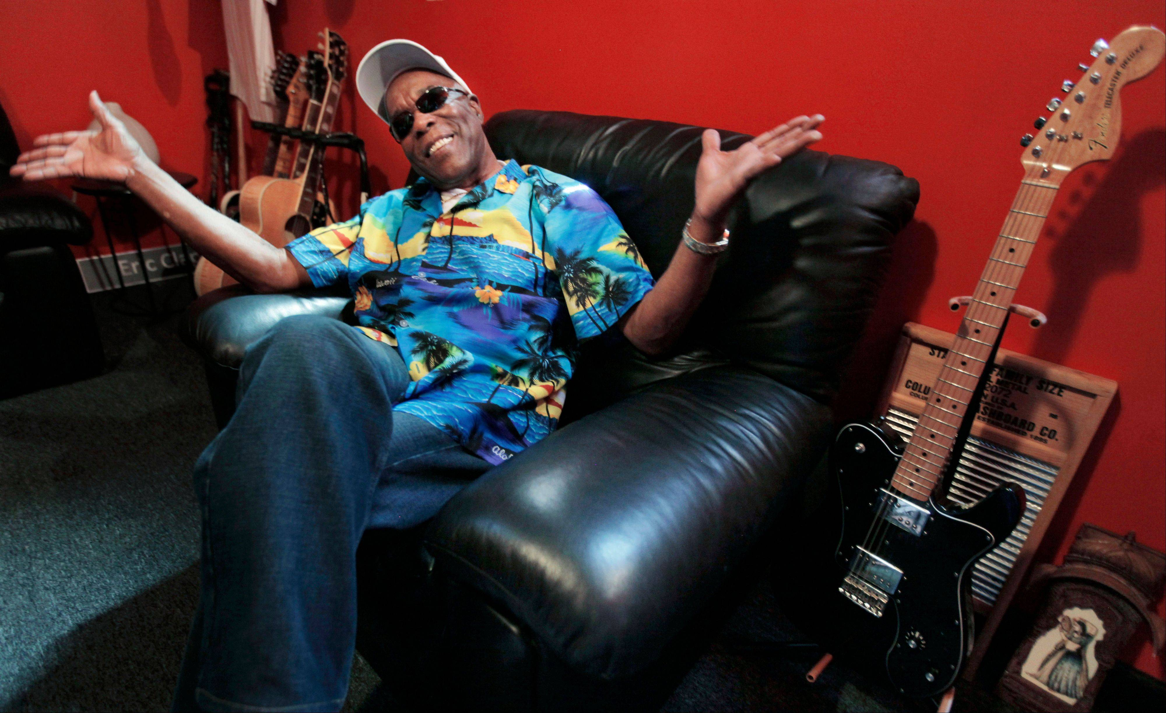 Musician Buddy Guy worries about the future of the blues. The blues great does his best to keep it going through shows, a new book and his club, Buddy Guy's Legends in Chicago's South Loop.