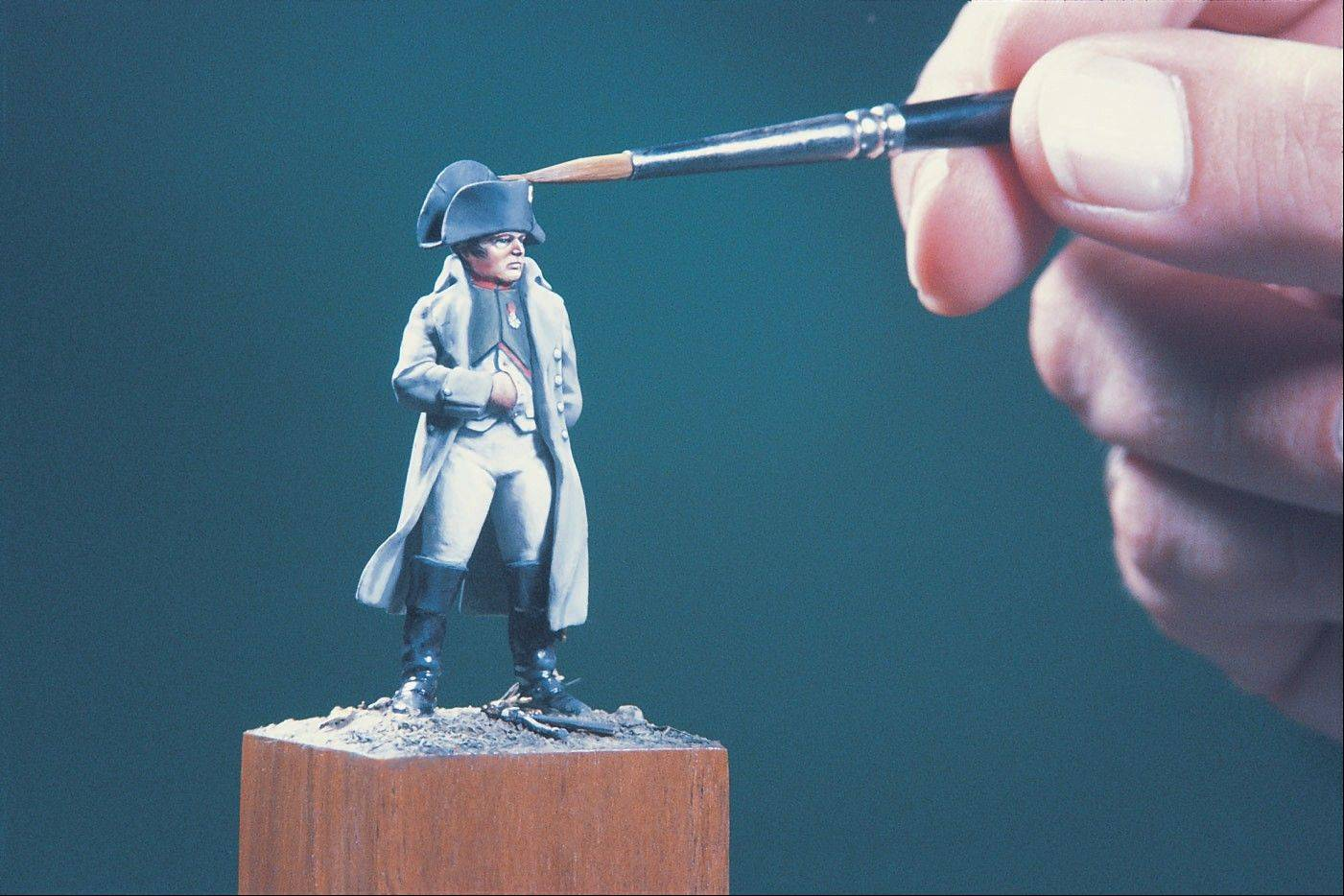 See painted military figurines by both amateur and professional artists at the Military Miniature Society of Illinois Exhibition and Competition.