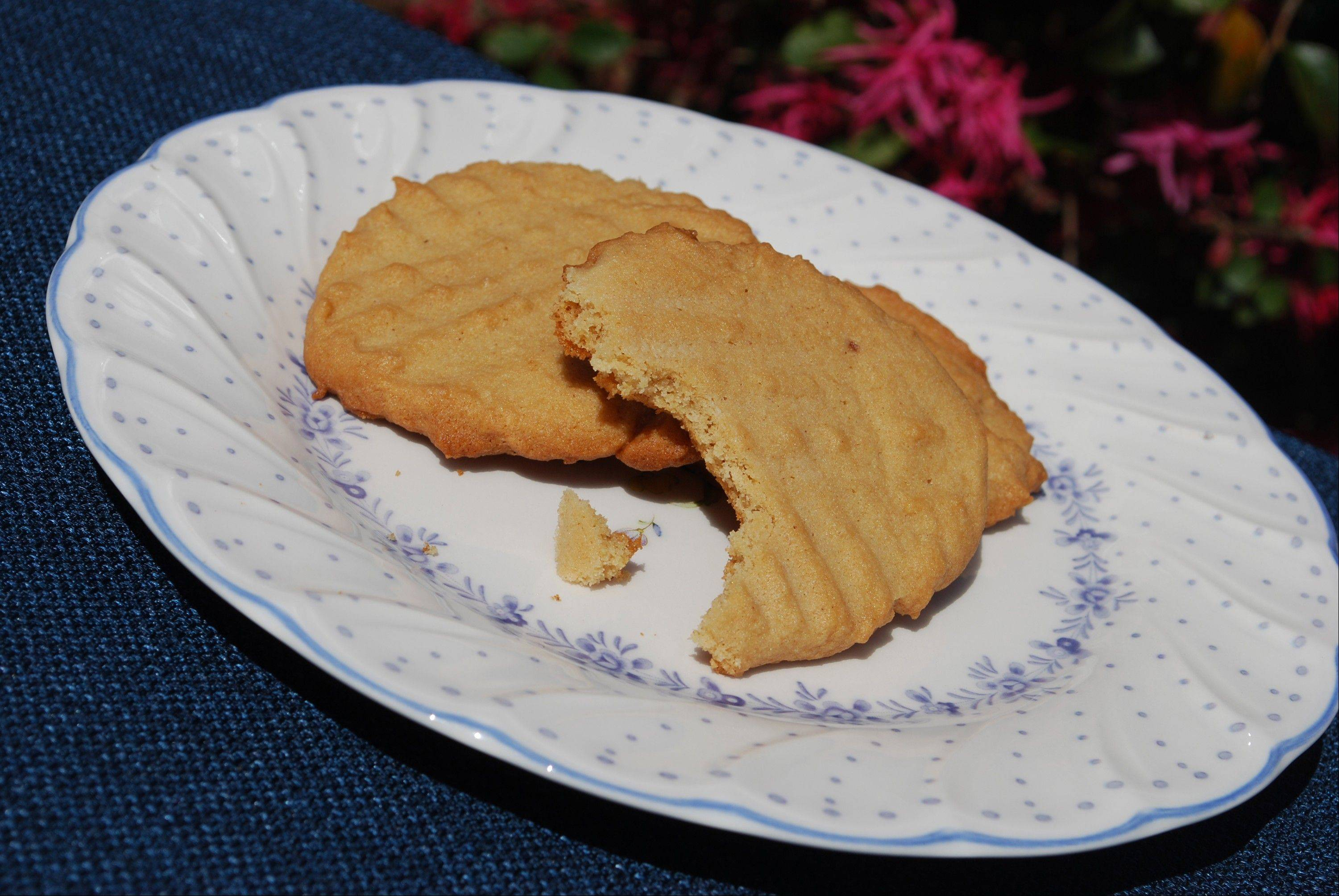 Old fashioned peanut butter cookies stand the test of time.