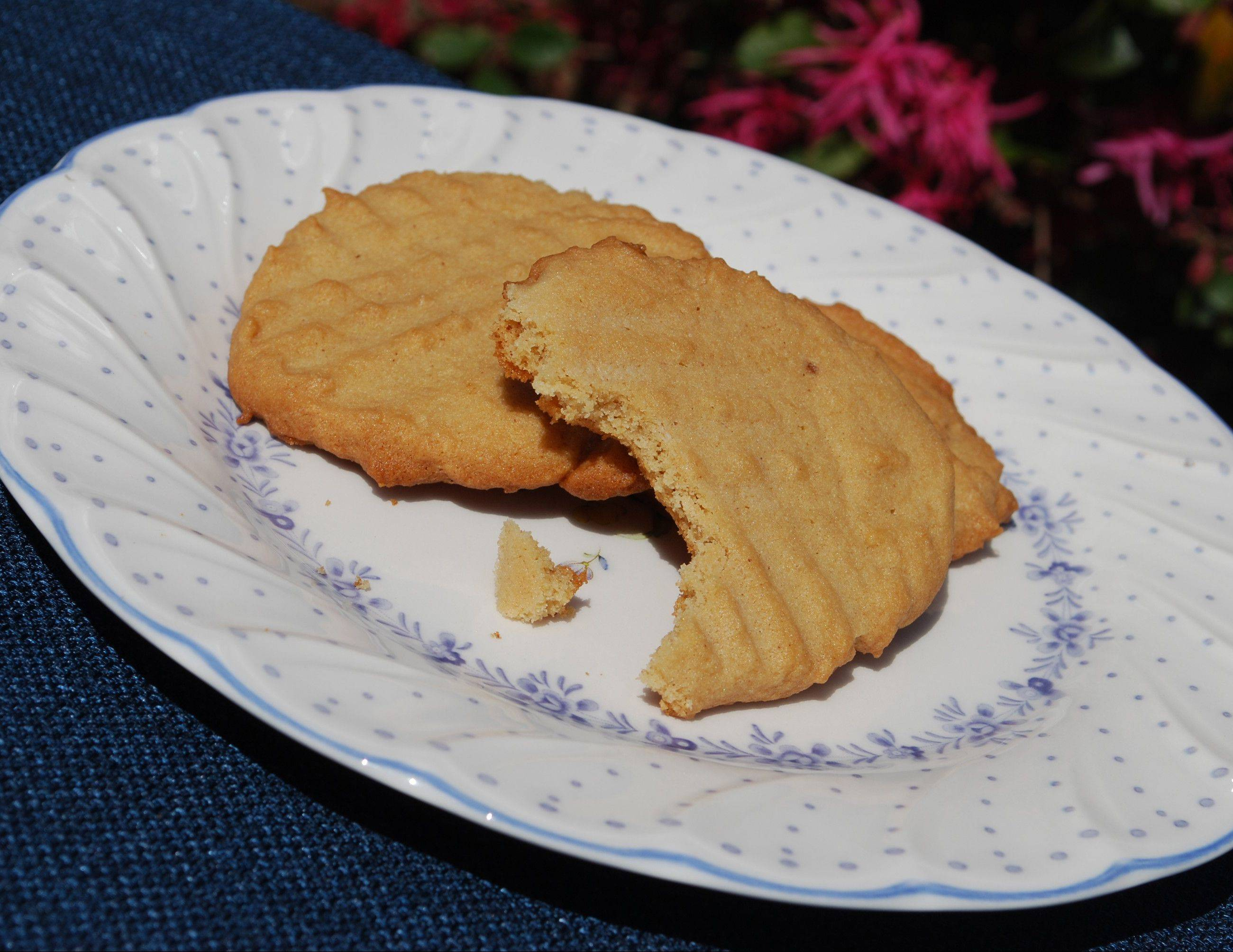 Old-fashioned peanut butter cookies stand the test of time.