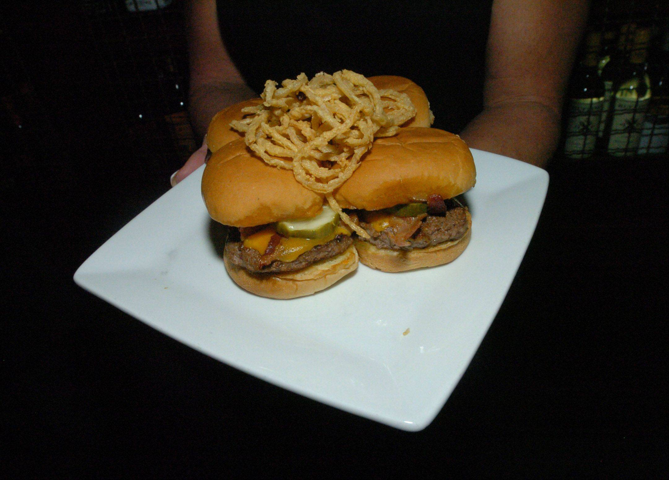 The sliders are a favorite at Bar Louie in Oakbrook Terrace.
