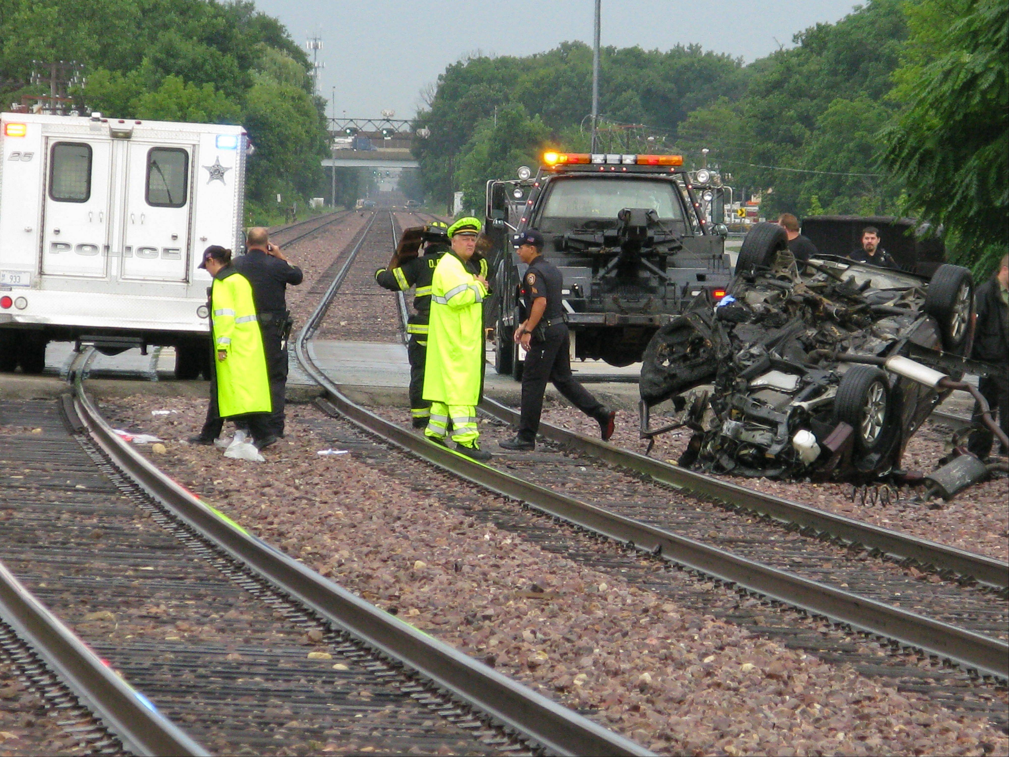 Daily Herald file photo Accidents like this August 2010 fatal collision with a car and Metra train in Des Plaines can be prevented, experts say.