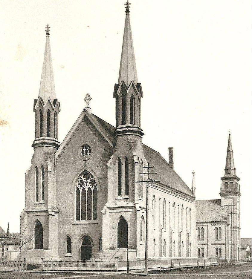 First United Methodist�s second building constructed in 1866 was demolished in 1923 to make way for its current structure.