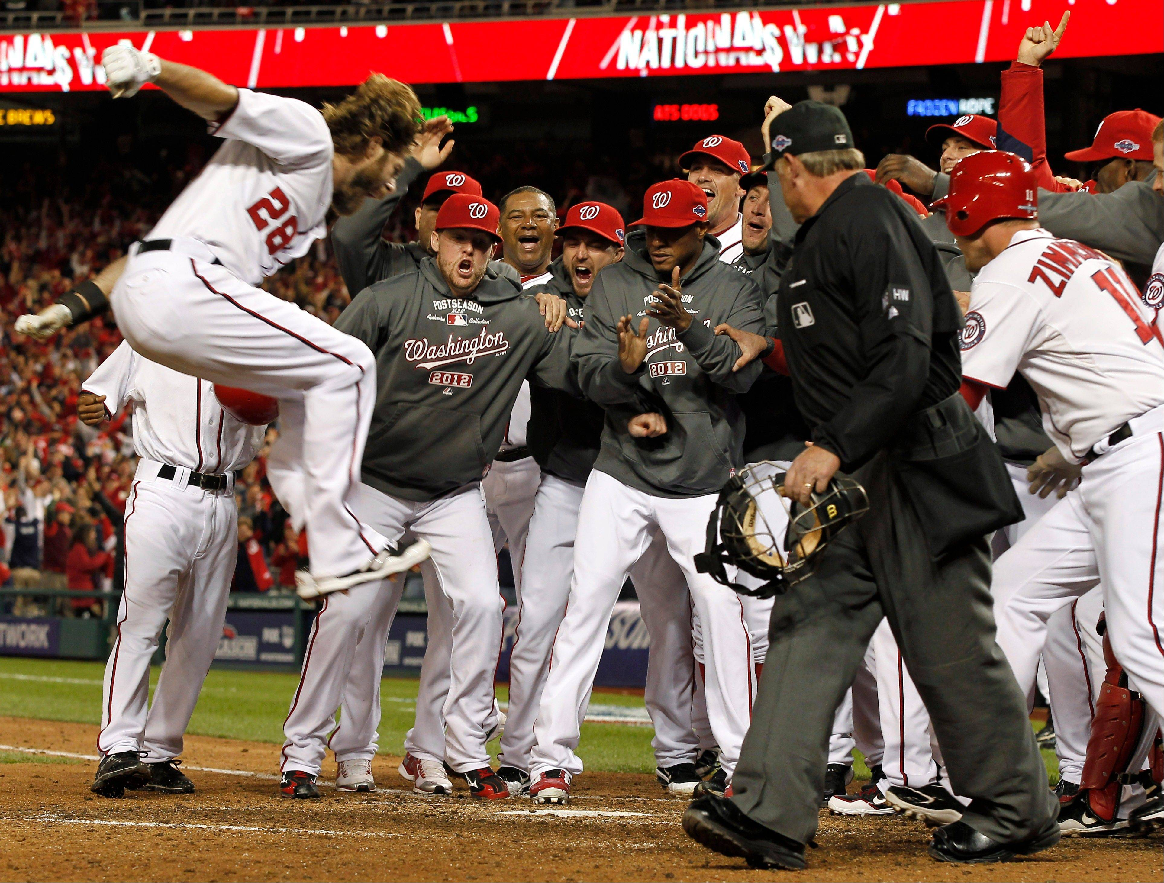 Werth's homer for Nationals forces Game 5 against Cards