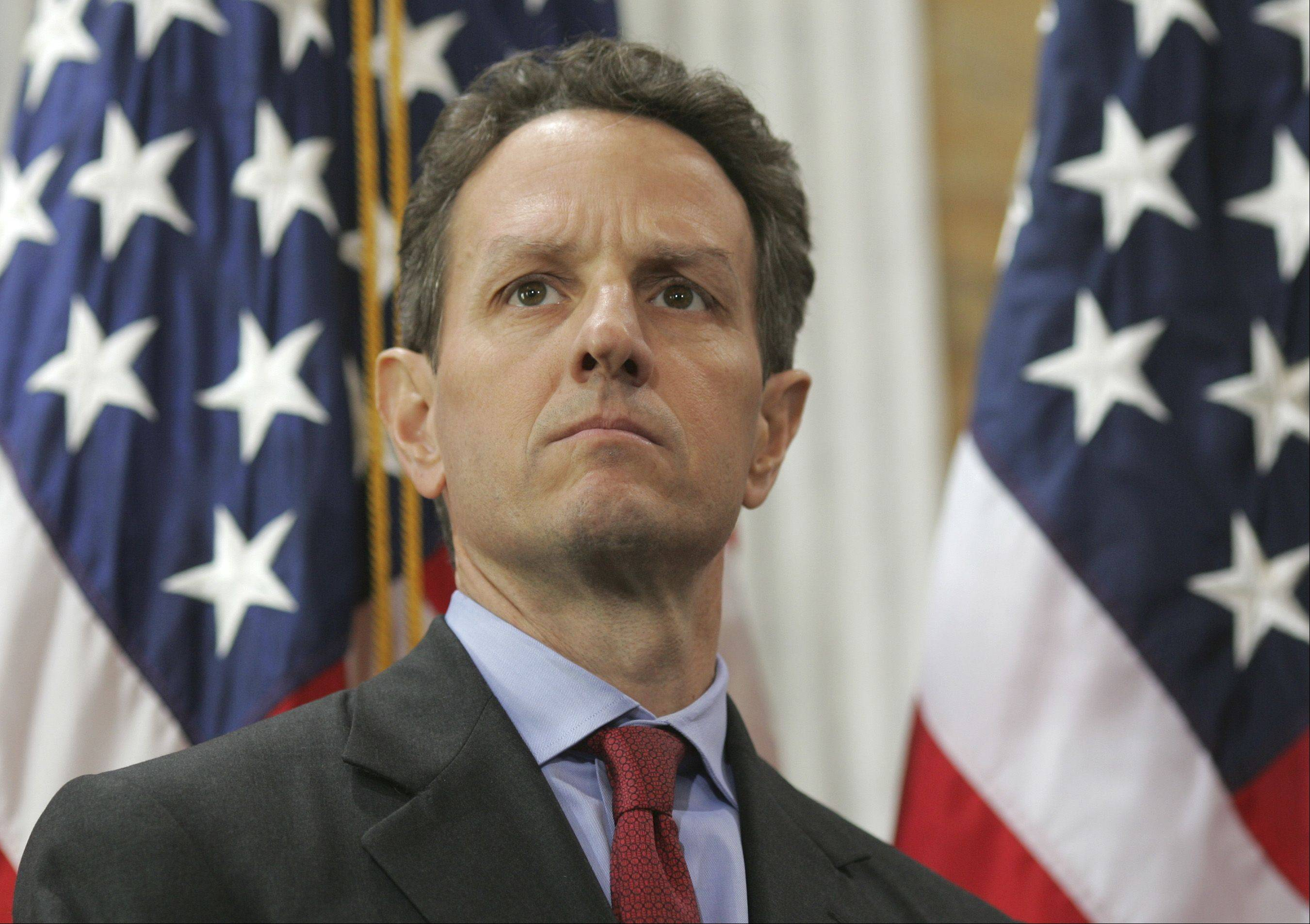 U.S. Treasury Secretary Timothy Geithner said Thursday that financial reforms and other actions in response to the global crisis are yielding results, helping the U.S. economy to grow at a pace better than there was reason to expect.