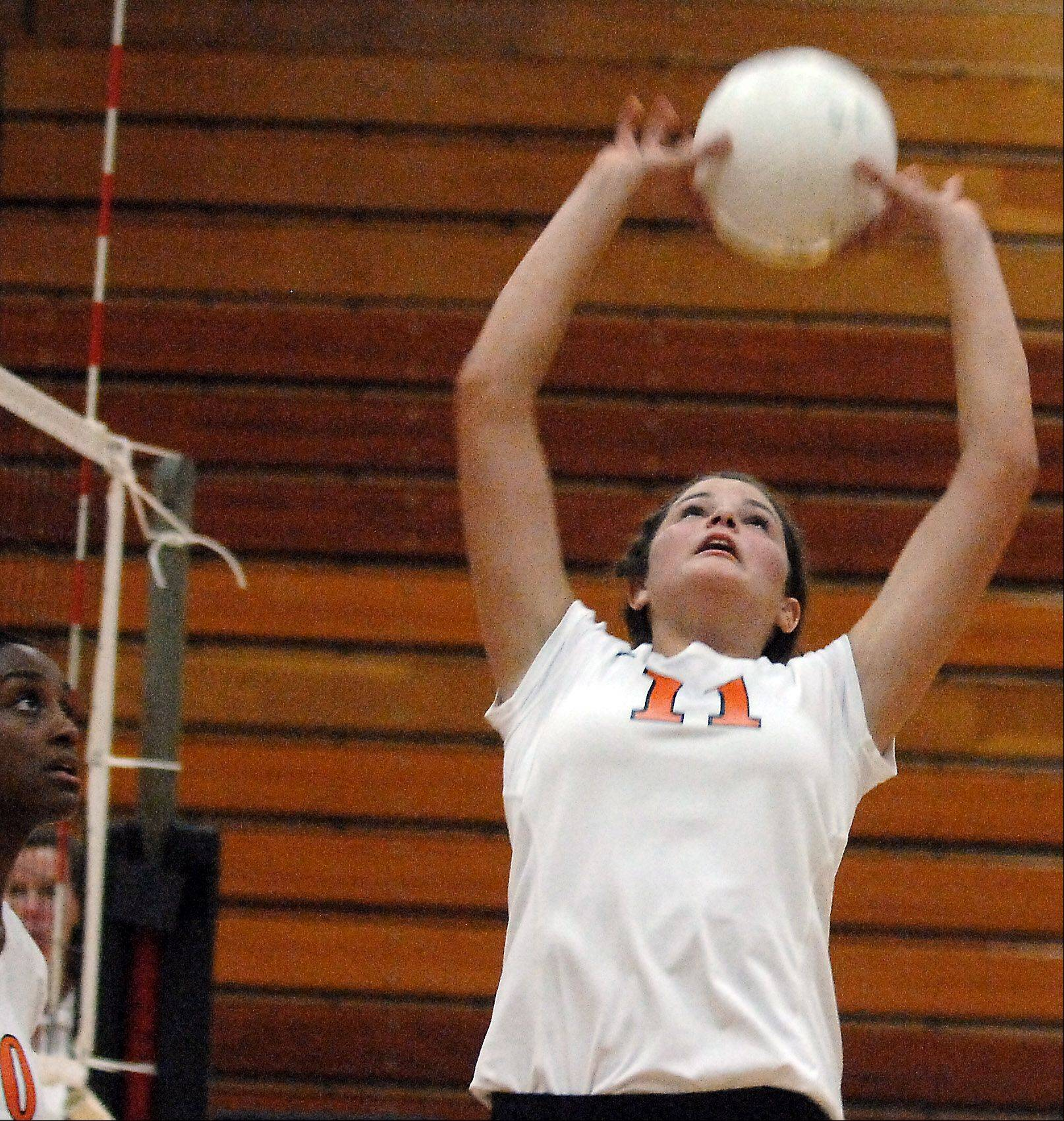 Erienne Barry is finishing off a stellar four-year career at St. Charles East.