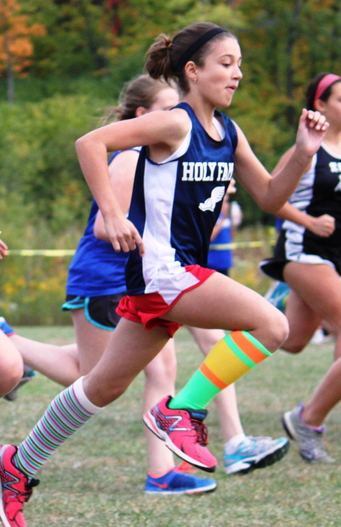 Holy Family Academy athlete Olivia heading to state competition.