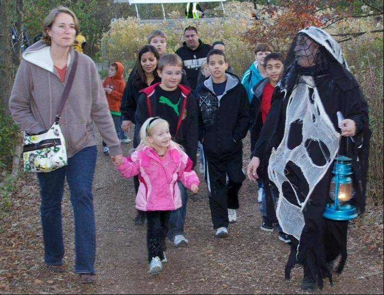 Bring the family to Spring Valley Oct. 26 and 27, for A Haunting in the Valley. Enjoy a mysterious walk, covered wagon ride, live owl display, refreshments and a bonfire.