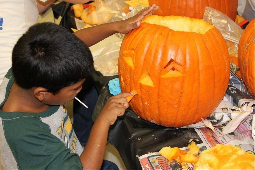 Your imagination could win you a prize at the Family Pumpkin Carving event on Oct. 20. Visit parkfun.com for details.