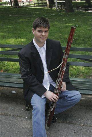 Naperville North High School graduate Peter Kolkay, a renown bassoonist, will perform as a soloist Saturday with the DuPage Symphony Orchestra.