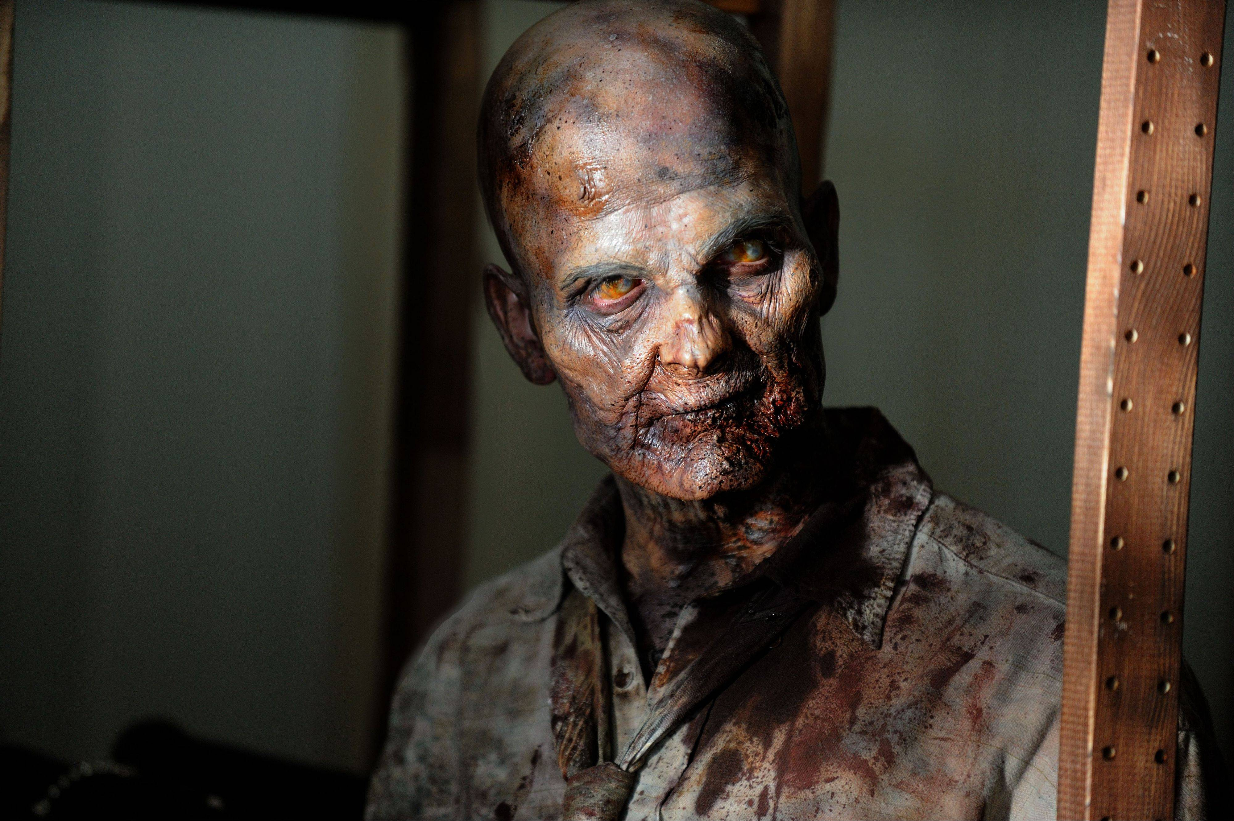 "The zombies have returned in AMC's ""The Walking Dead,"" which airs Sundays at 8 p.m. on AMC."