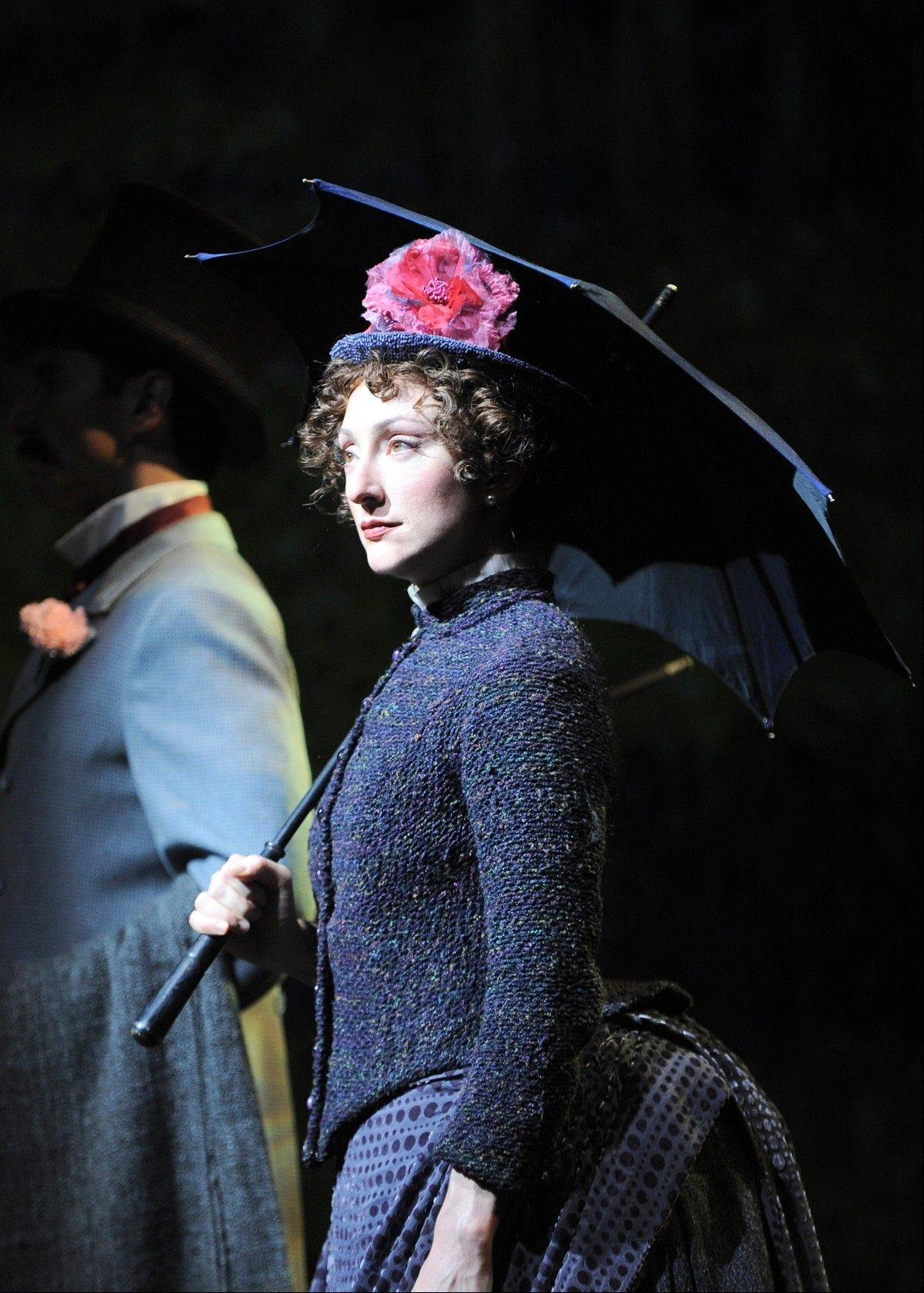"Making her Chicago Shakespeare Theater debut is Carmen Cusack, whose remarkable performance as Georges Seurat's muse Dot, is among the finest of the many fine things about Gary Griffin's production of Stephen Sondheim's ""Sunday in the Park with George."""