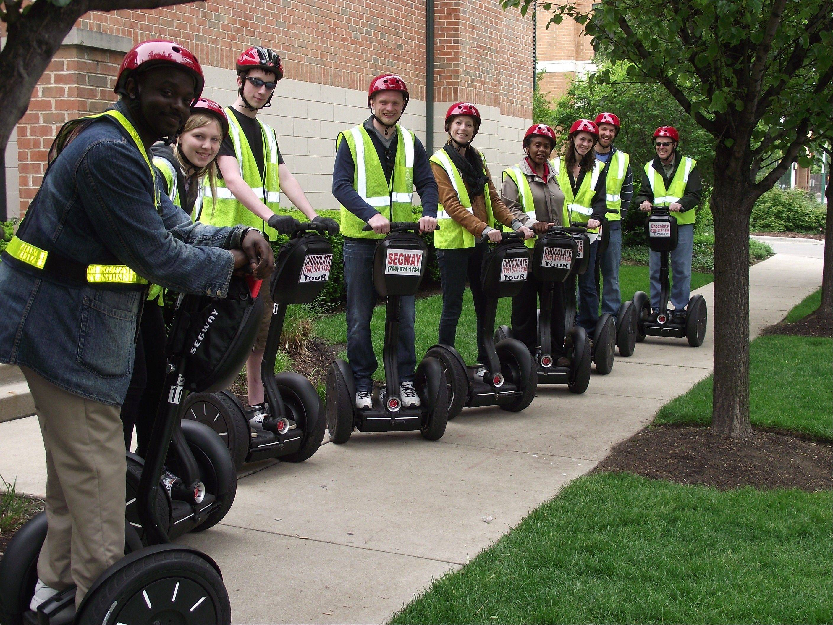Oak Park Segway teams up with Greenline Wheels and Rickshaw Rick for the Haunted Squeals on Wheels: Oak Park Spooky Tales Tour.