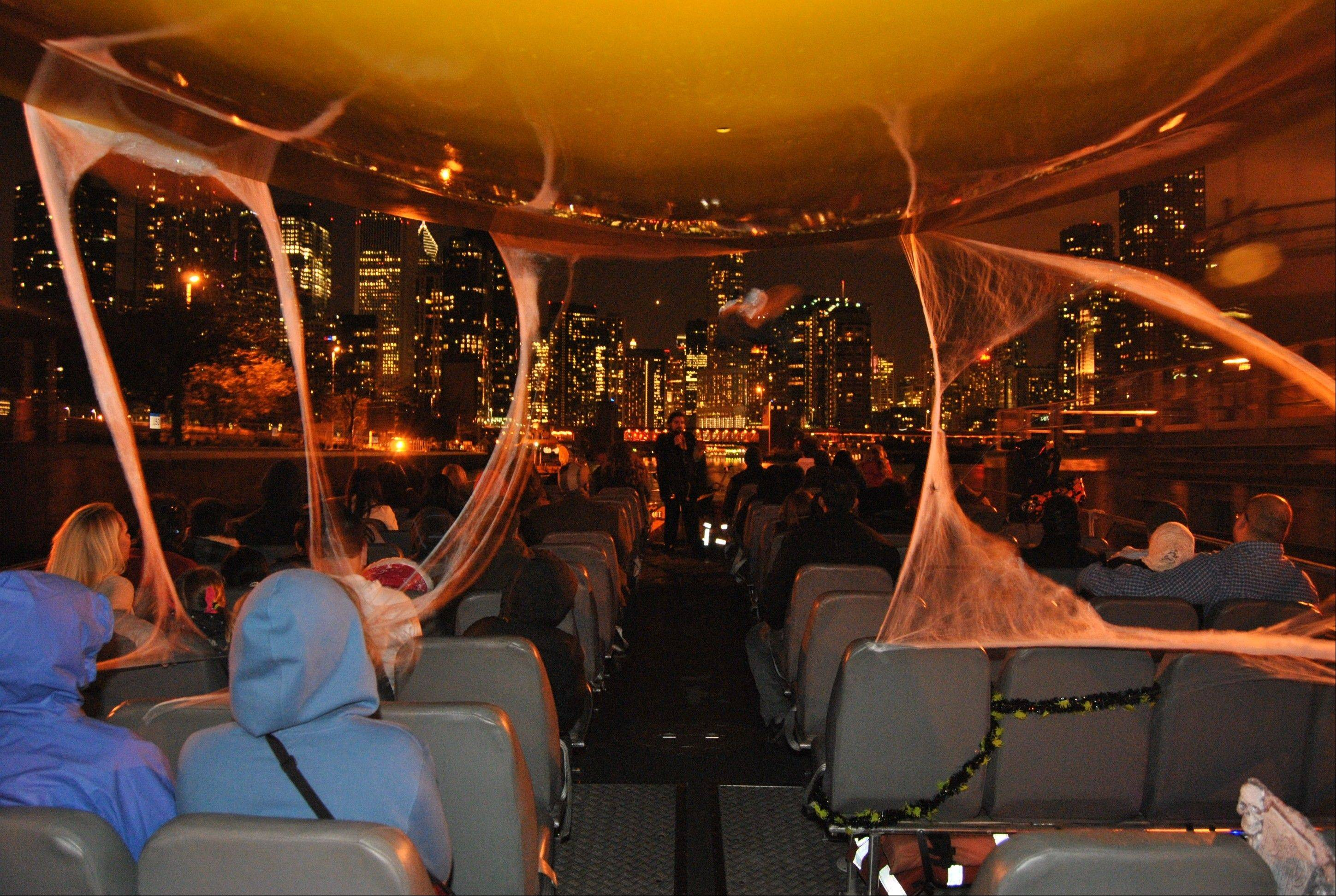 Seadog Haunted Tours focus on Chicago River tragedies involving Fort Dearborn and the Eastland Disaster.