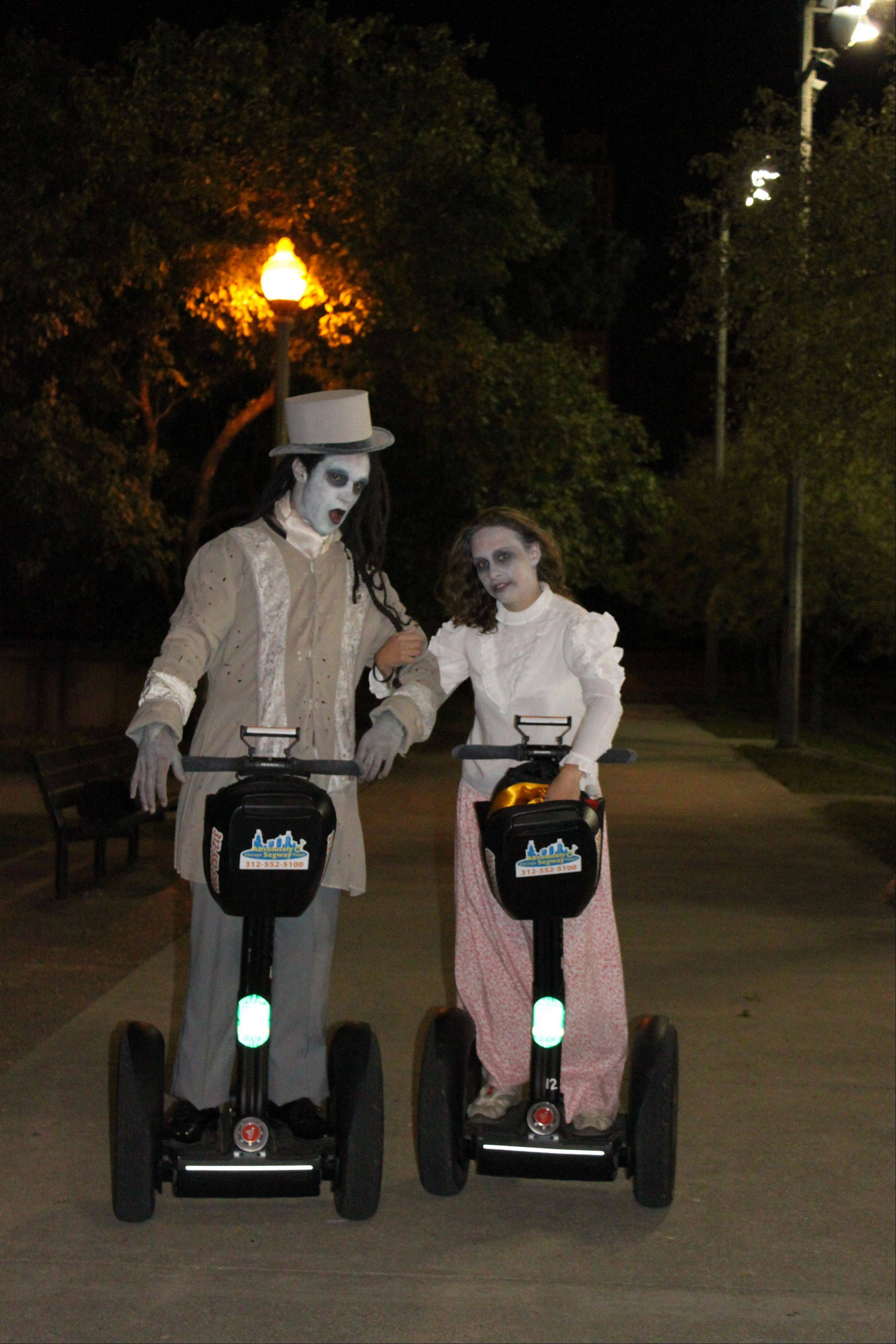 Absolutely Chicago Segway Tours' Haunted Halloween Tour offers up a high-tech way to find out about Chicago ghost stories.