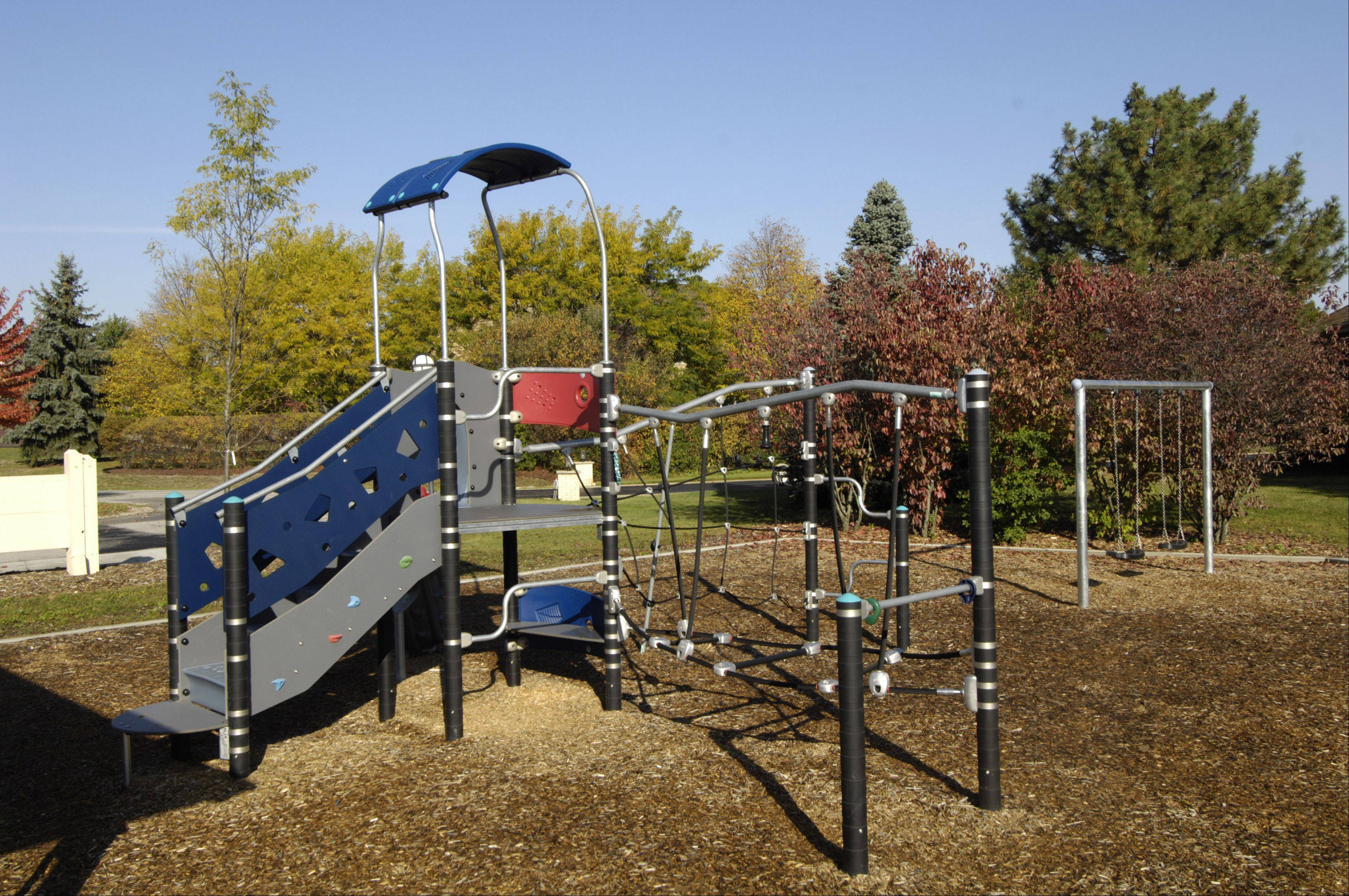 Claire Lane Park neighborhood in Prospect Heights includes a park district playground.