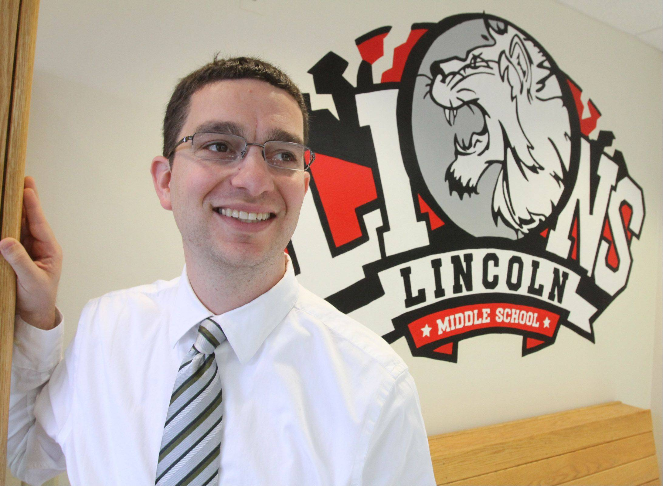 Jason Kaiz is the new principal of Lincoln Middle School in Mount Prospect.