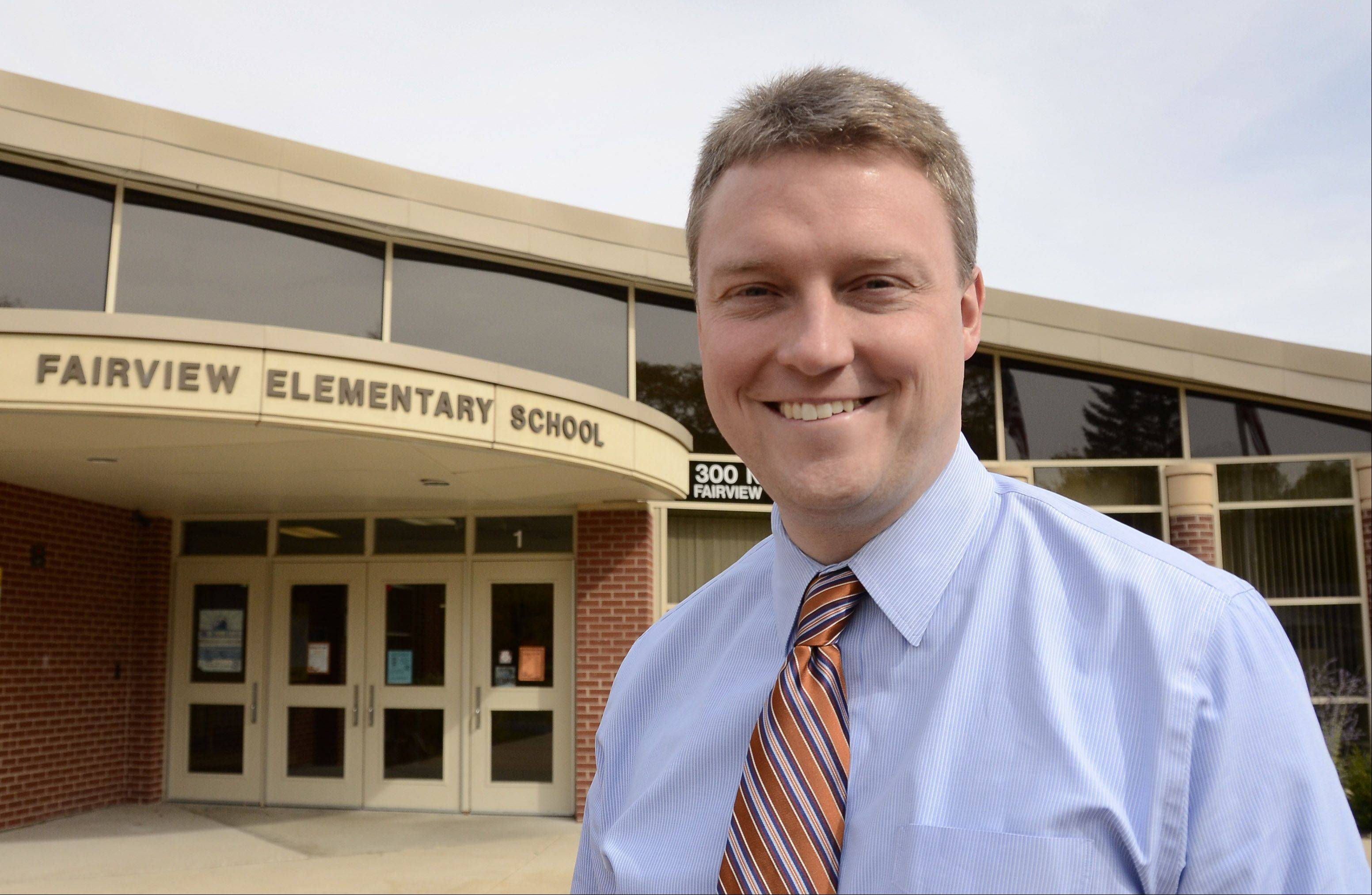 Dan Ophus is the new principal at Fairview Elementary School in Mount Prospect.