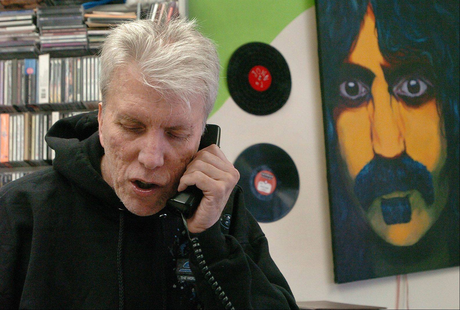 John Thominet owns Rainbow Records in Barrington, a largely-undiscovered record store.