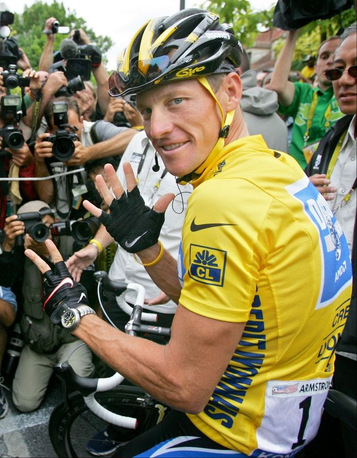 Lance Armstrong's seven Tour de France titles are now tainted.