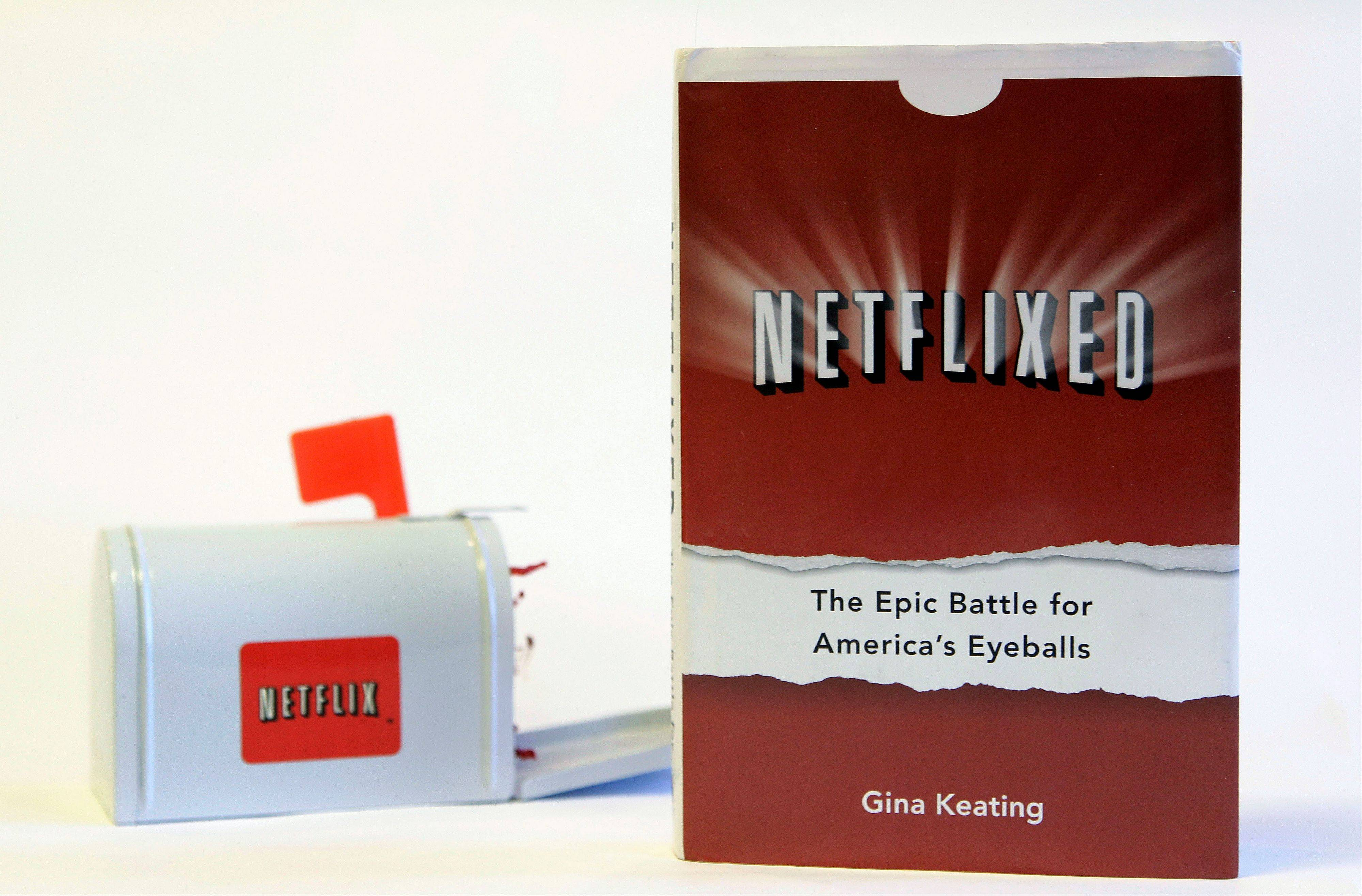 "Gina Keating's book ""Netflixed: The Epic Battle for America's Eyeballs,"" which went on sale Thursday, tries to debunk a widely told tale about the company's origins and paints a polarizing portrait of its star CEO Reed Hastings."