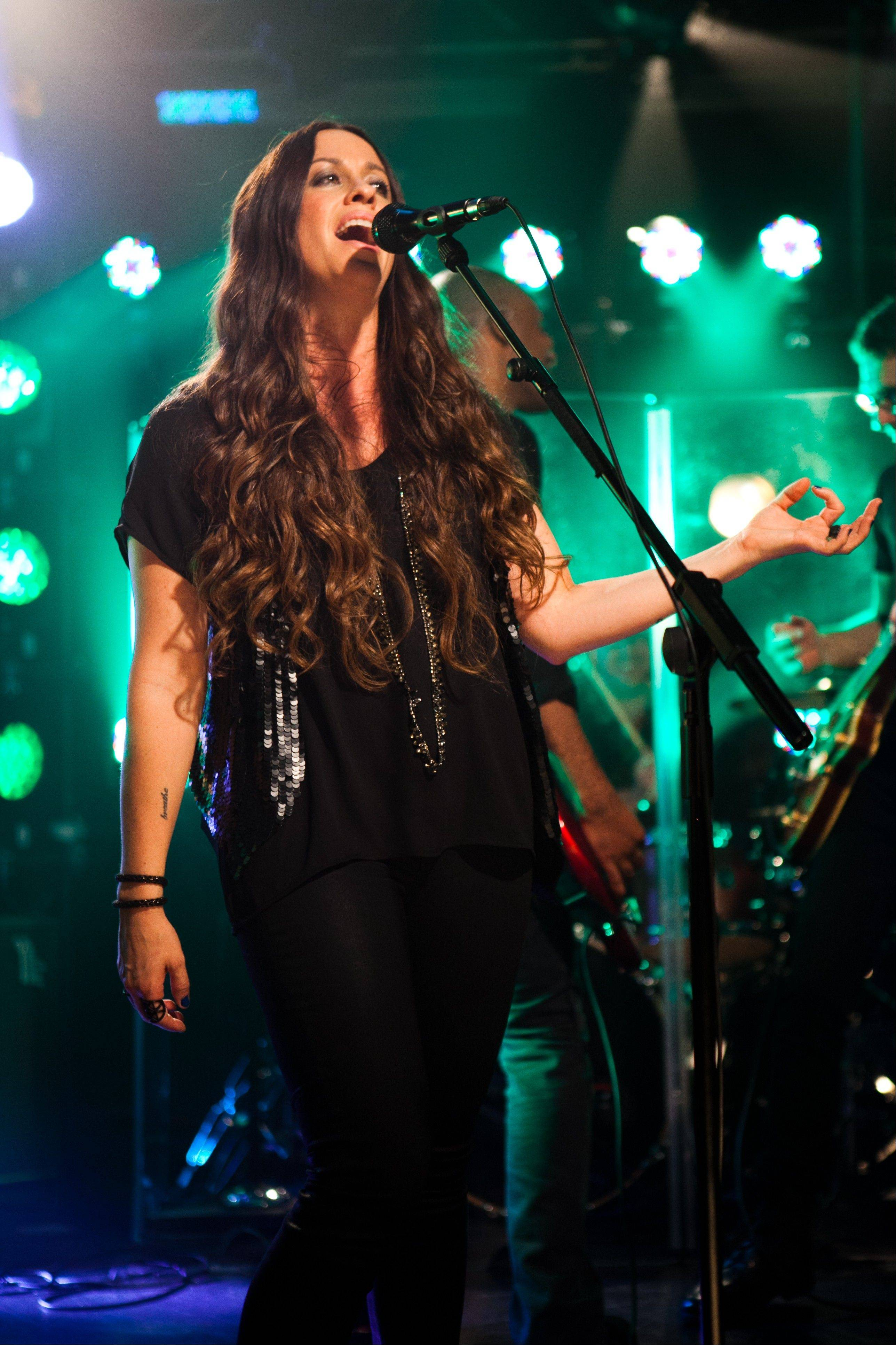 Alanis Morissette headlines Chicago's Riviera Theatre on Saturday, Oct. 13.