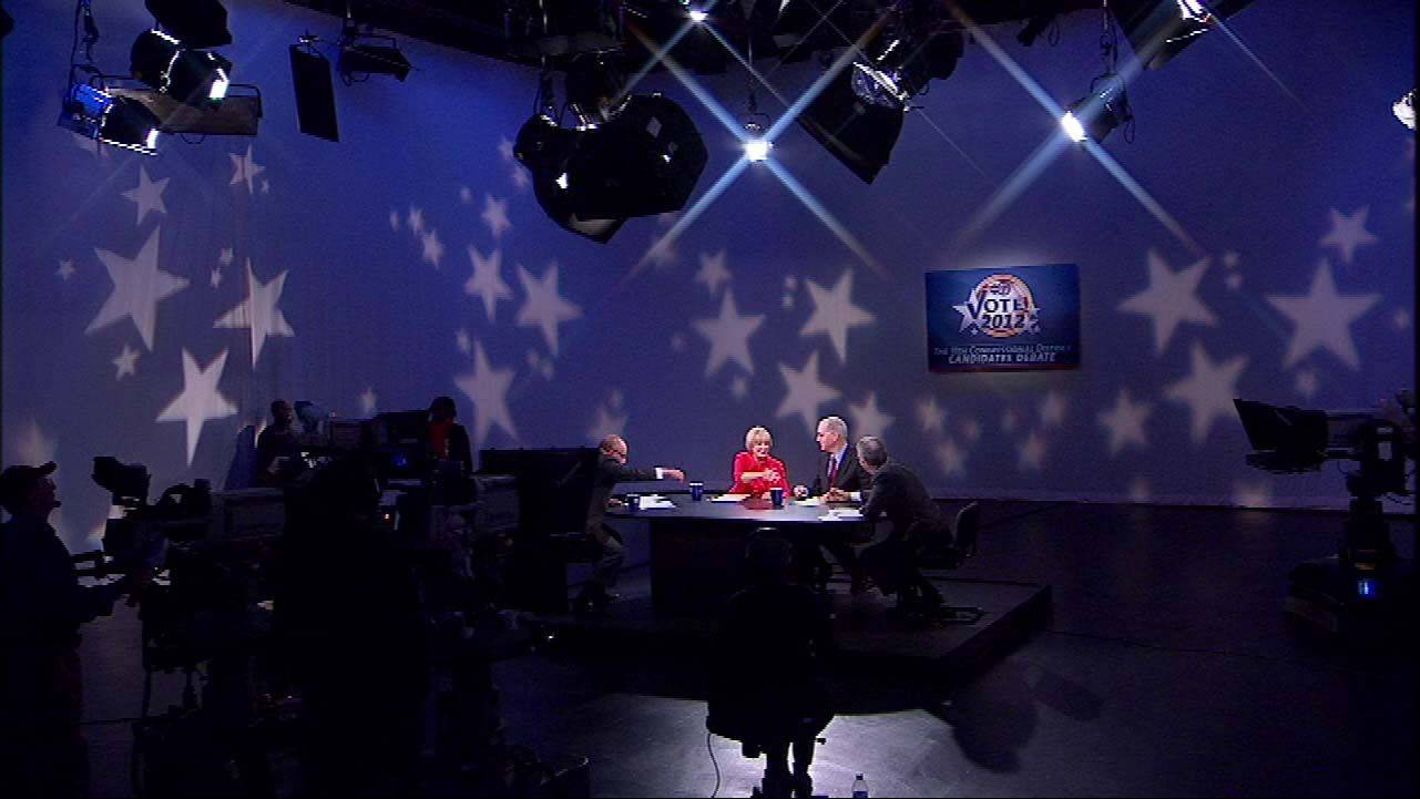 The 11th Congressional District candidates Republican Judy Biggert debates Democrat Bill Foster Saturday on ABC 7.
