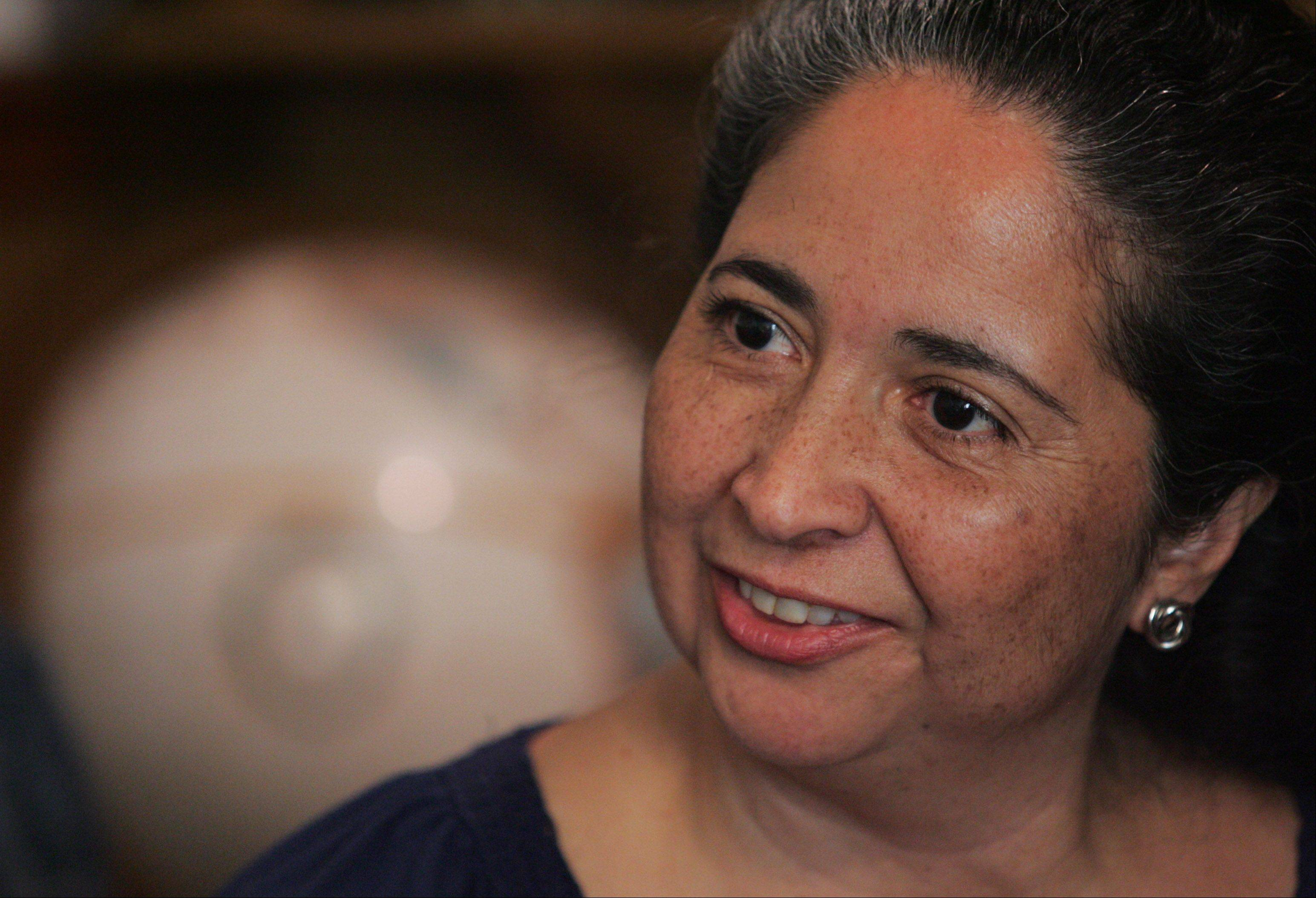 Helen López Strom of Elgin has been a strong voice for the Latino community for years, most recently as president of LULAC Council 5236. She was recently named the 2012 Illinois Woman of the Year by the state League of United Latin American Citizens group.