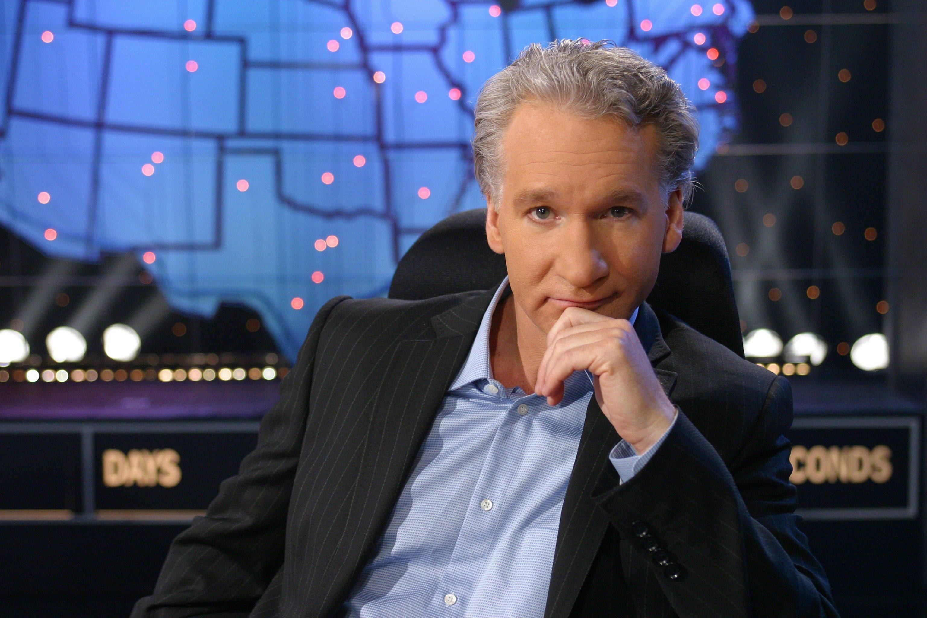 Bill Maher gives his political perspective at Waukegan's Genesee Theatre on Sunday, Oct. 14.