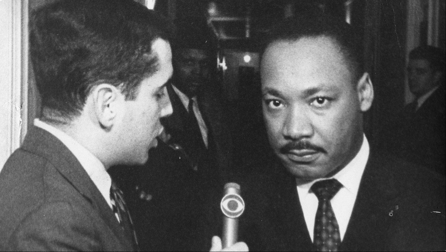 "This 1966 interview with Martin Luther King Jr. is just one of the many highlights of Walter Jacobson's 50 years in the Chicago news business. ""It's been a great way to spend my life,"" Jacobson says."