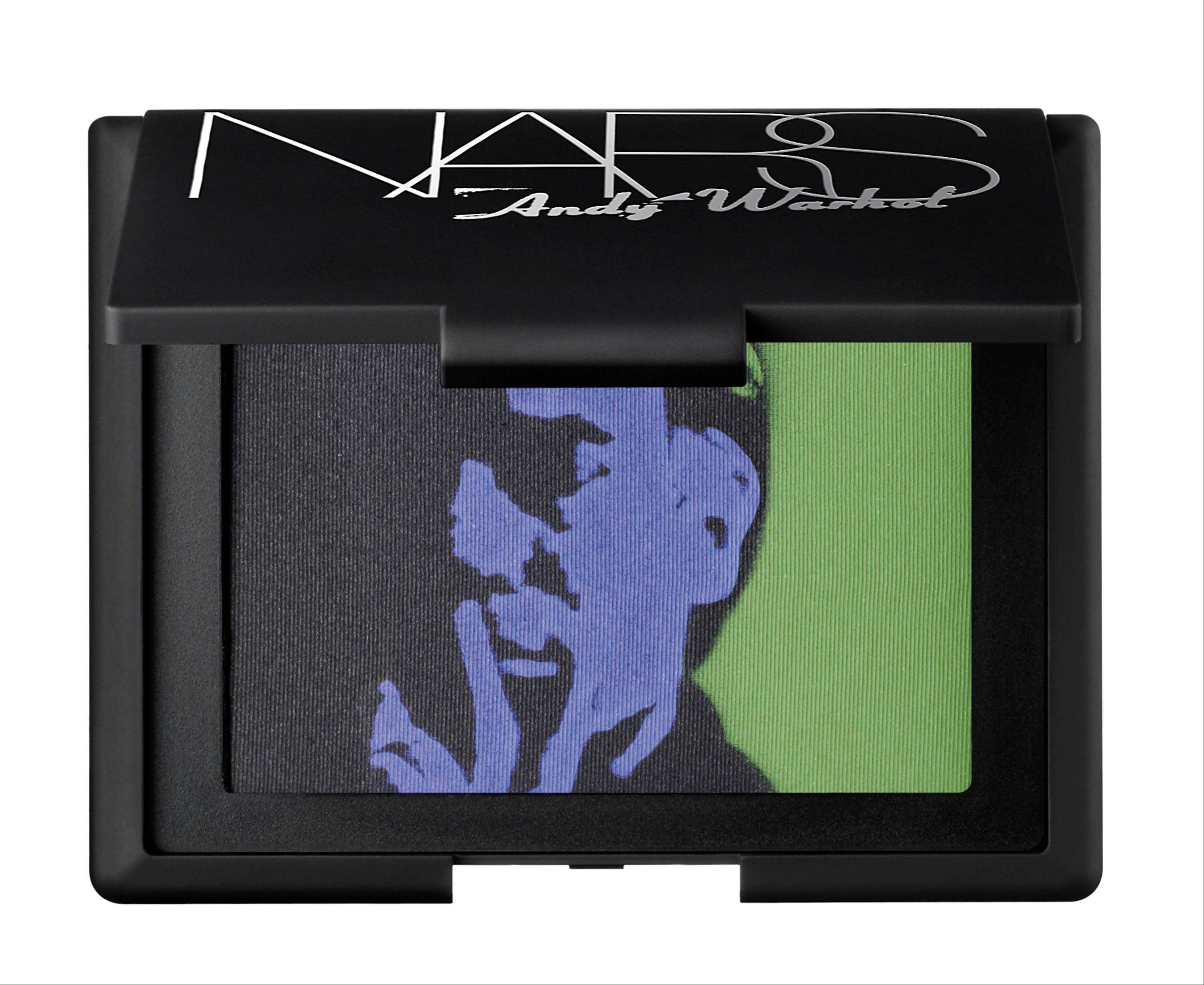 This undated product photo released by Nars Cosmetics shows eye shadow from the Andy Warhol collection. Francois Nars' company has taken on Andy Warhol's silvery Factory, silkscreened superstars and avant-garde films in a limited-edition cosmetic collection, exclusive to Sephora stores until Nov. 1.
