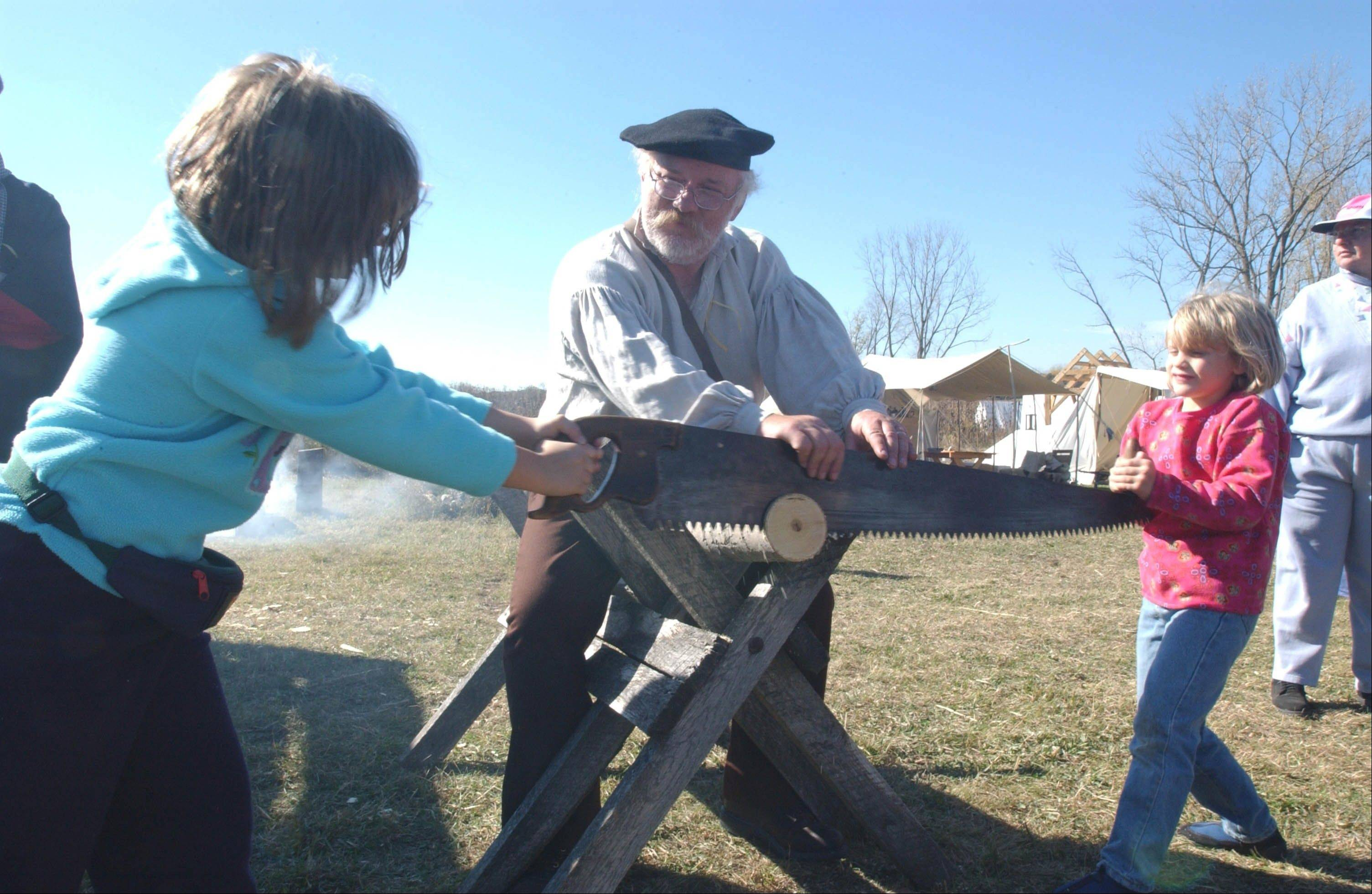 Show the kids how people lived and worked in the old Northwest Territory during the Trail of History in McHenry County.