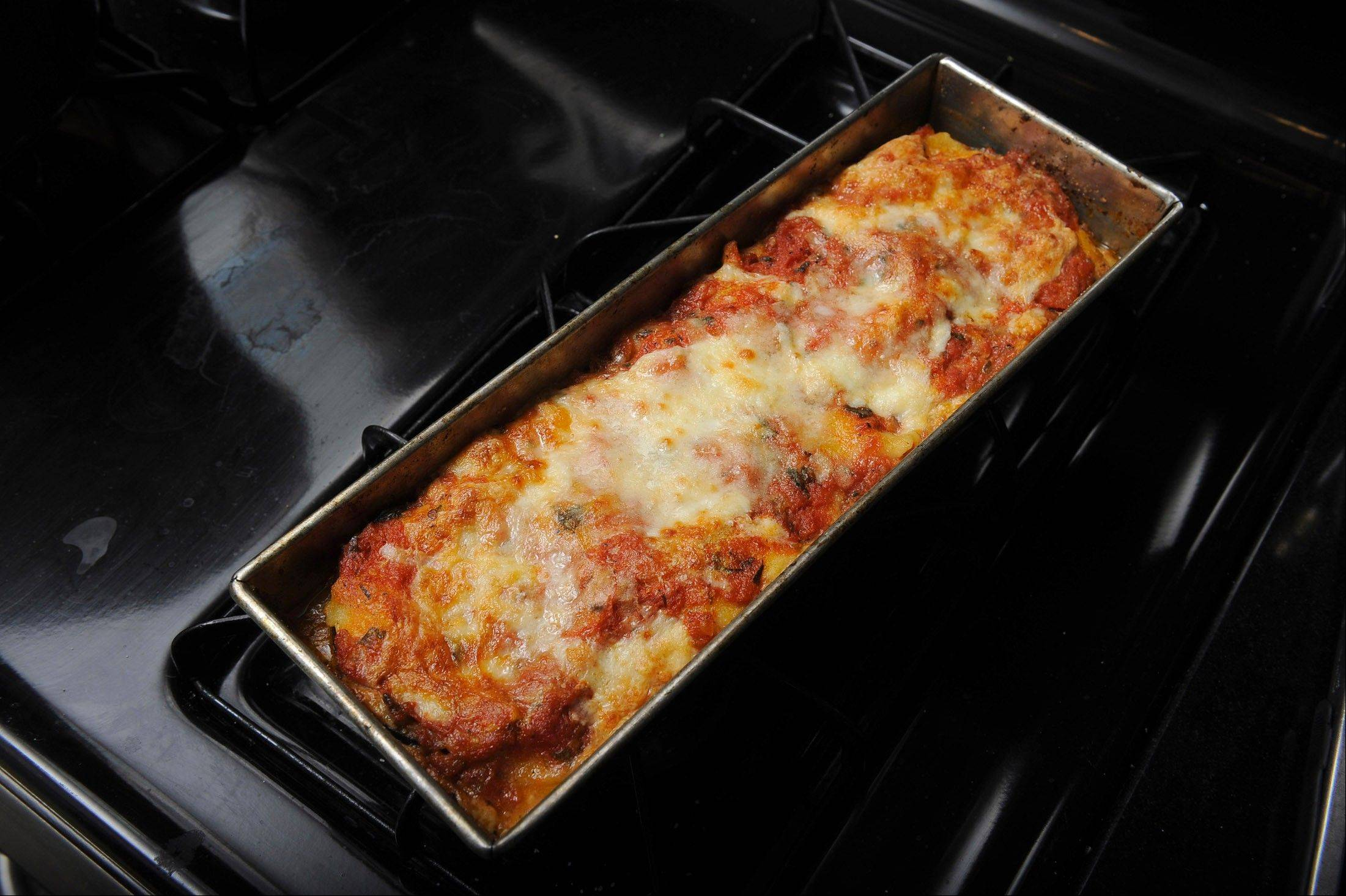 The beauty of fresh pasta is that it cooks in lasagna, such as this eggplant parmesan version, without having to be parboiled.