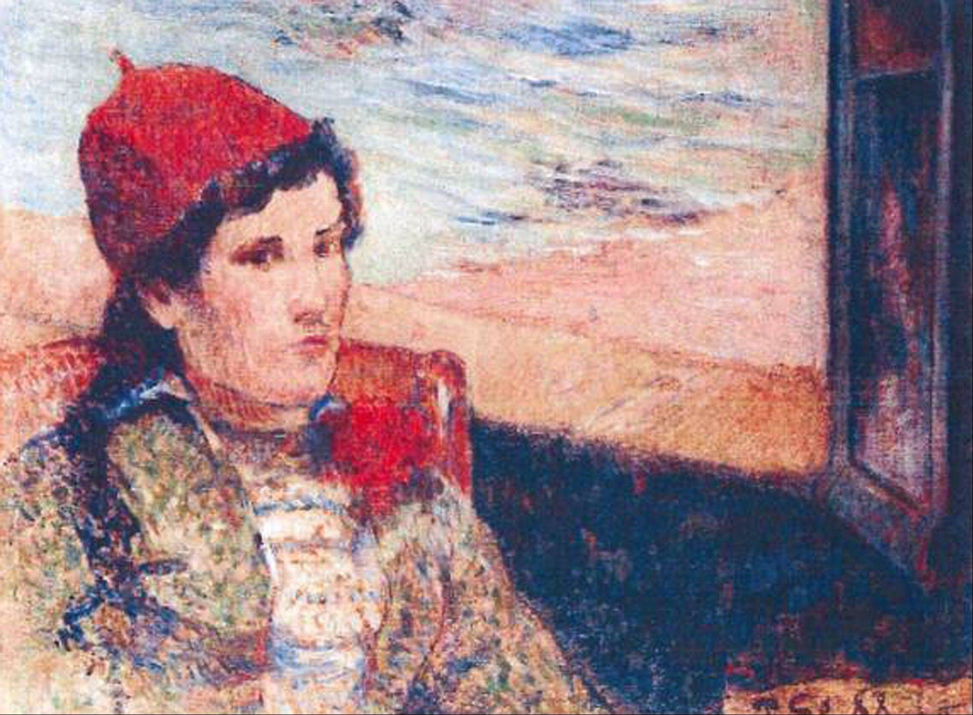The 1898 painting �Girl in Front of Open Window� by Paul Gauguin was among seven paintings stolen from a musem in Netherlands. Works by Pablo Picasso, Henri Matisse and Claude Monet were also stolen.