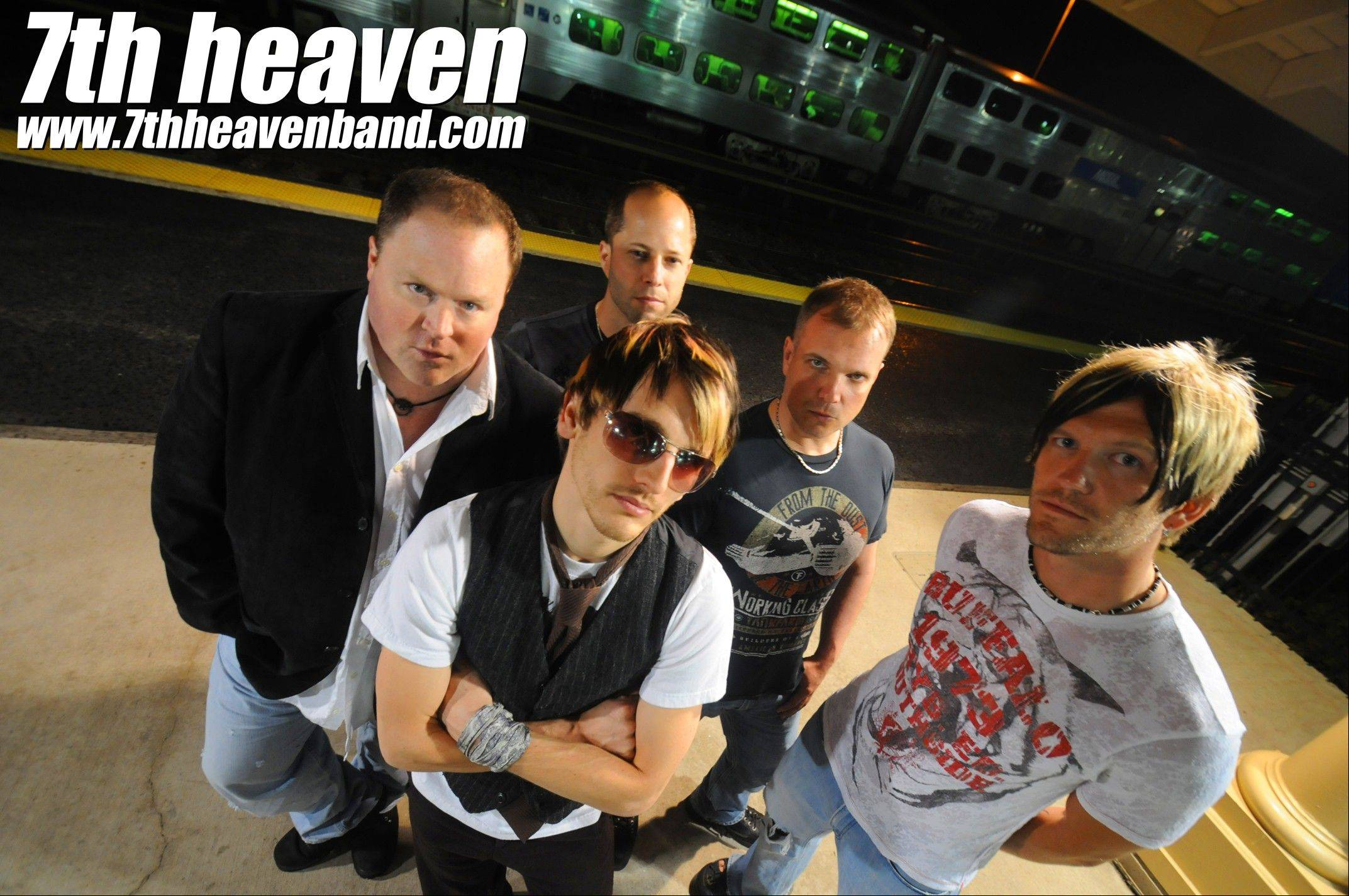 Seventh Heaven plays this weekend at two venues: Viper Alley in Lincolnshire and the Prairie Center for the Arts in Schaumburg.