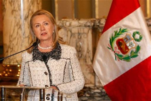 U.S. Secretary of State Hillary Rodham Clinton is answering Republican criticism of the Obama administration's handling of last month's attack at the U.S. consulate in Benghazi, Libya, saying she -- not the White House -- is responsible for security at all of America's diplomatic missions.