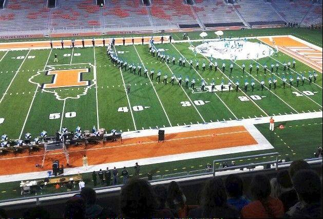 The Prospect Marching Knights were named Grand Champions at the 42nd annual University of Illinois Illini Marching Band Championships Oct. 13, having ranked first among all 24 bands in Class 4A. 5A and 6A.