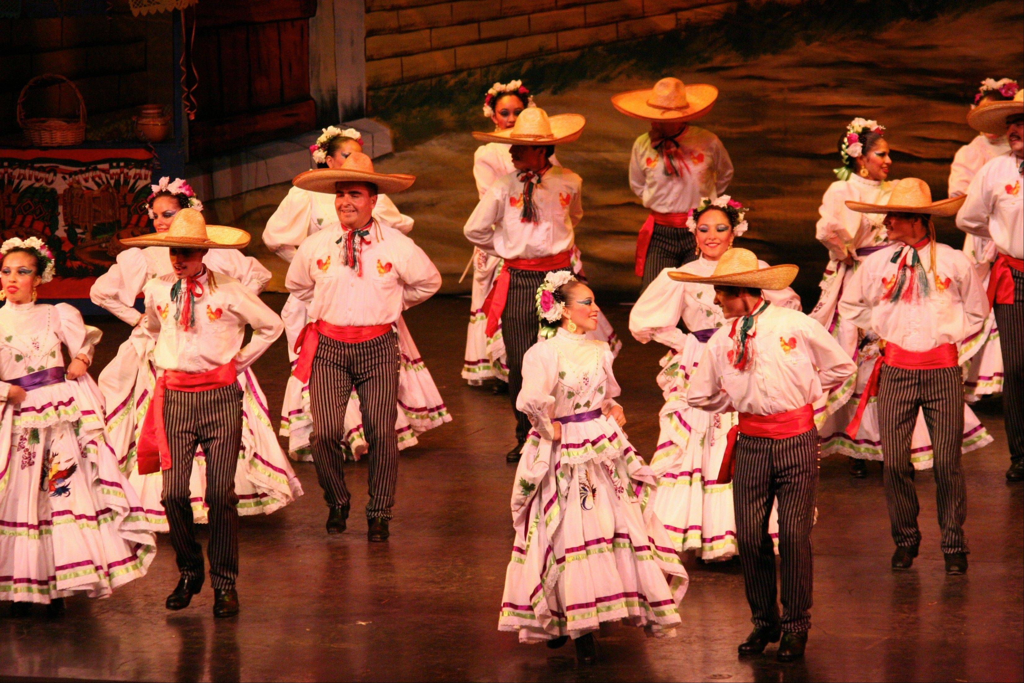 Ballet Folklorico Quetzalcoatl is set to perform at the Paramount Theatre in Aurora on Friday, Oct. 19.