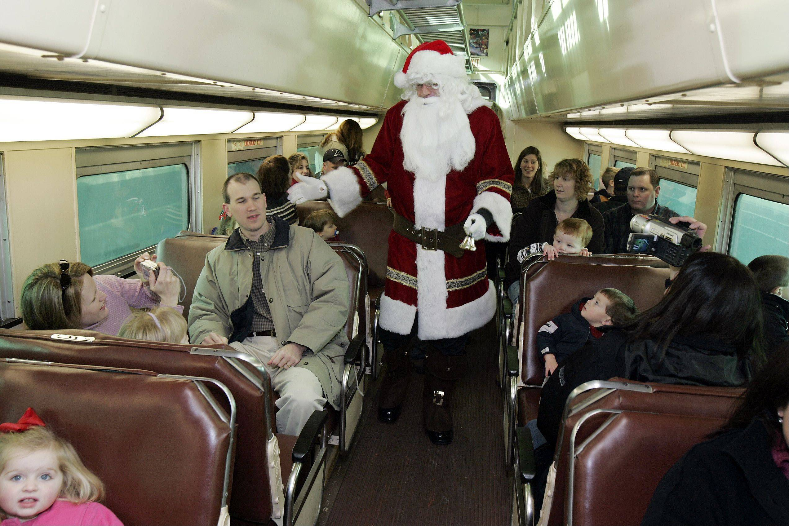 Rising costs and declining interest has forced the Naperville Jaycees to cancel this year's Santa Train event.