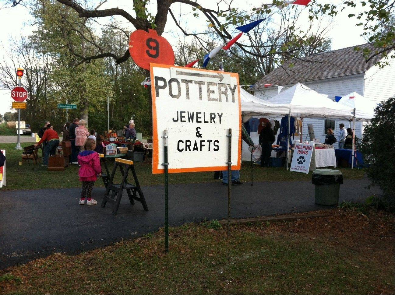 Plenty of vendors have their wares for sale at the Autumn Drive, which takes place along and around Garden Valley Road in Woodstock the third weekend of October every year. This year marks the event's 25th anniversary.