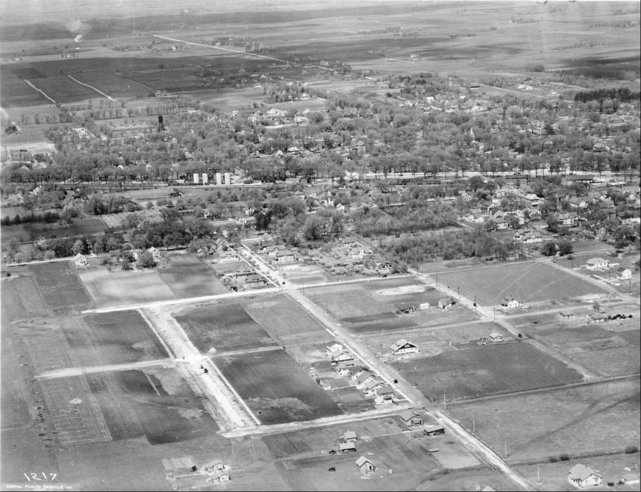 Central Arlington Heights looked like this is 1925.