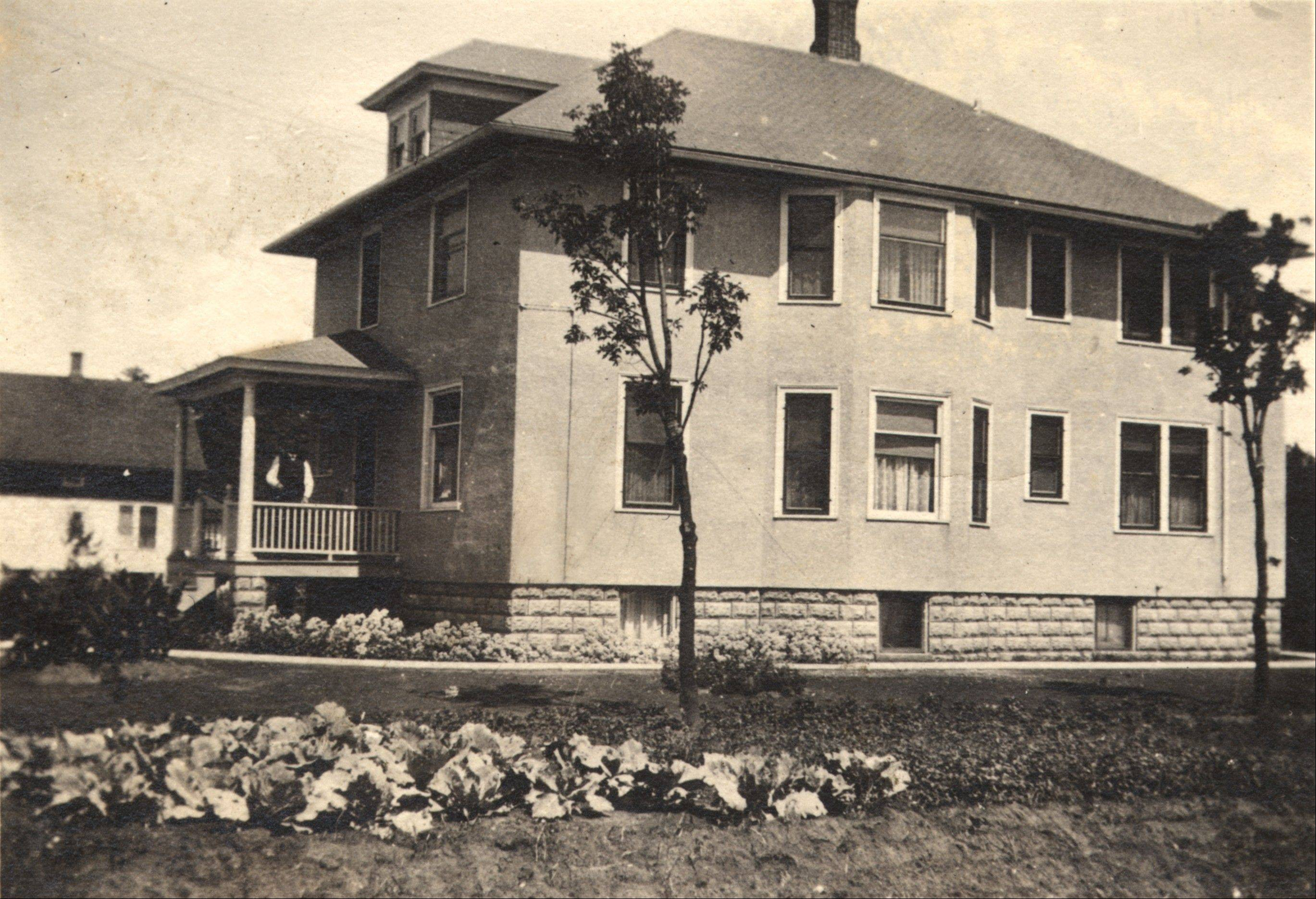 Henry Oltrogge built this home -- with help -- in 1918.