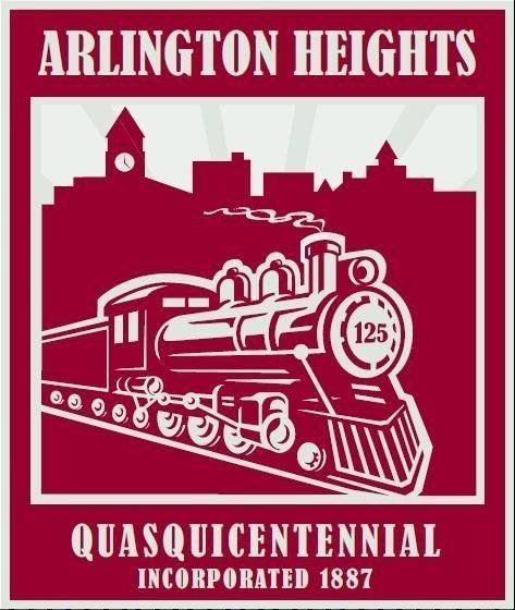 Arlington Heights quasquicentennial logo