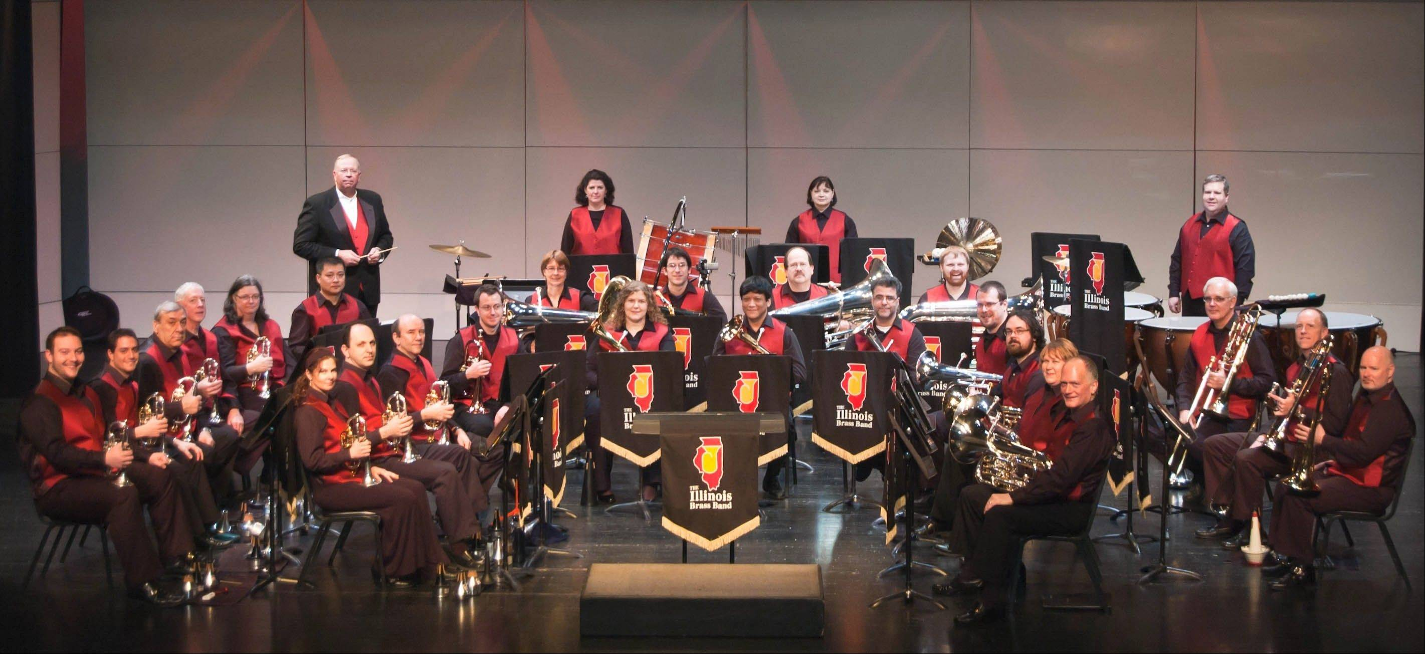 The Illinois Brass Band performs music from the movies Nov. 4 at Cutting Hall.