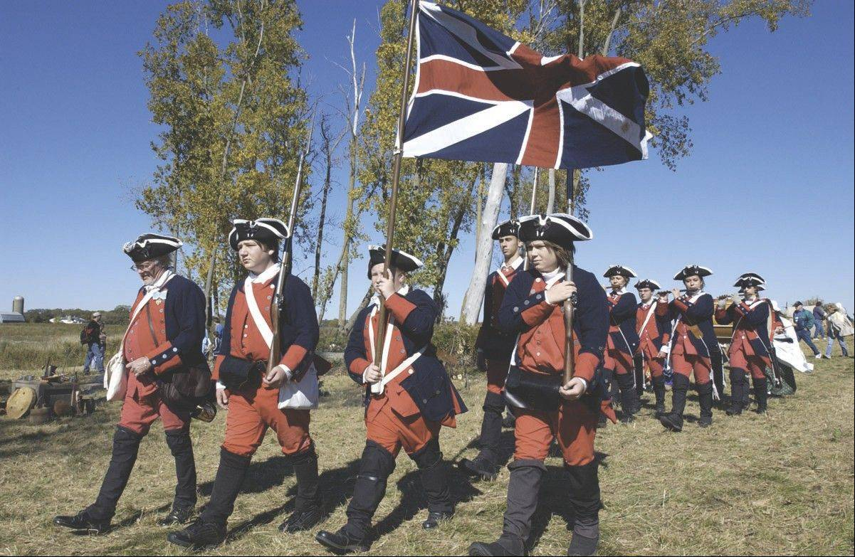 Military encampments will recreate events from the 17th through 19th centuries at the Trail of History.
