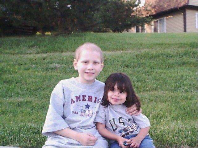 Joseph Wisniewski of Naperville with his sister, Amanda, hoped for a cure so no one else would have to die from leukemia.