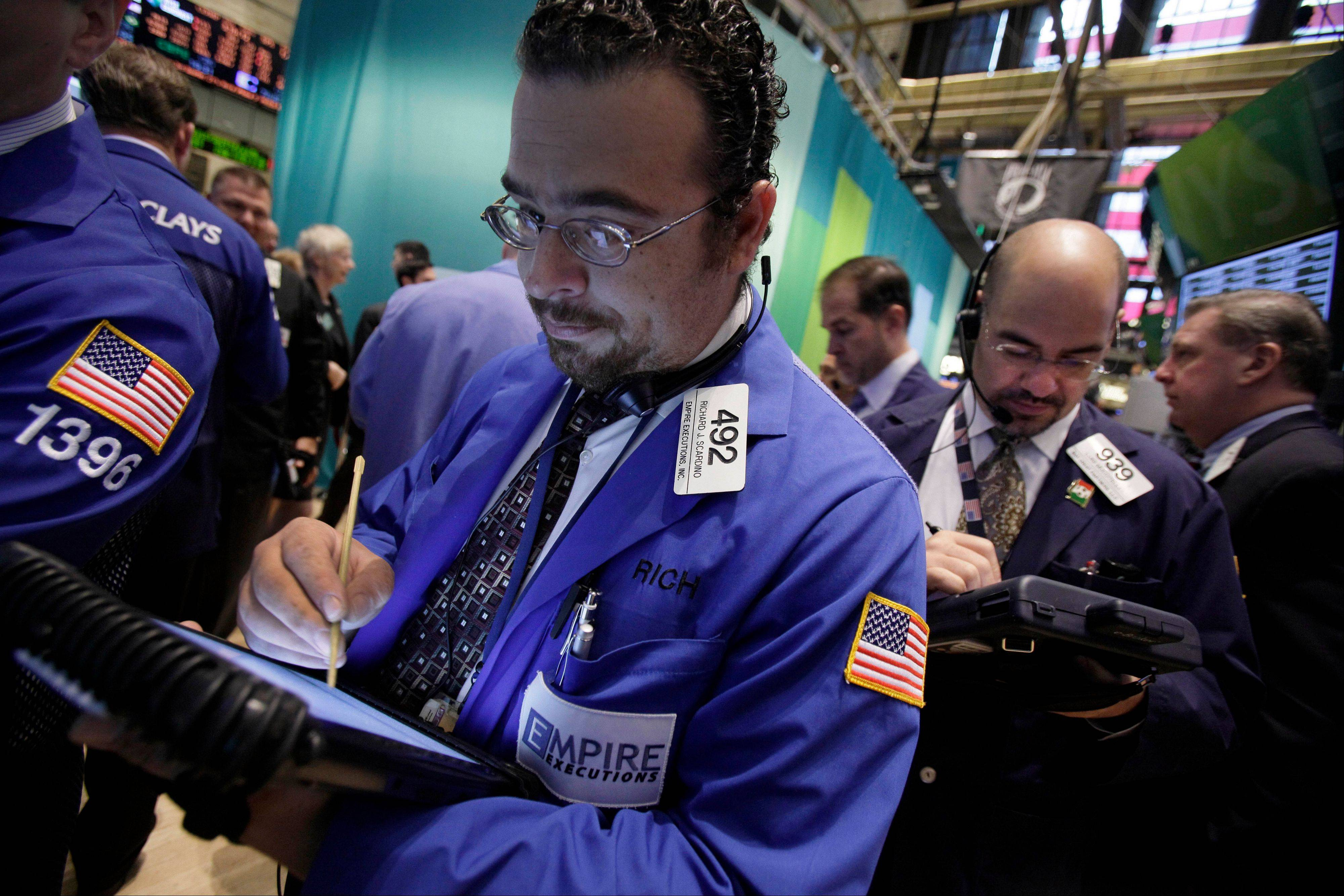 U.S. stocks fell, after a three-day advance in the Standard & Poor's 500 Index, as Google pulled down technology shares after reporting third-quarter profit and sales that missed estimates.