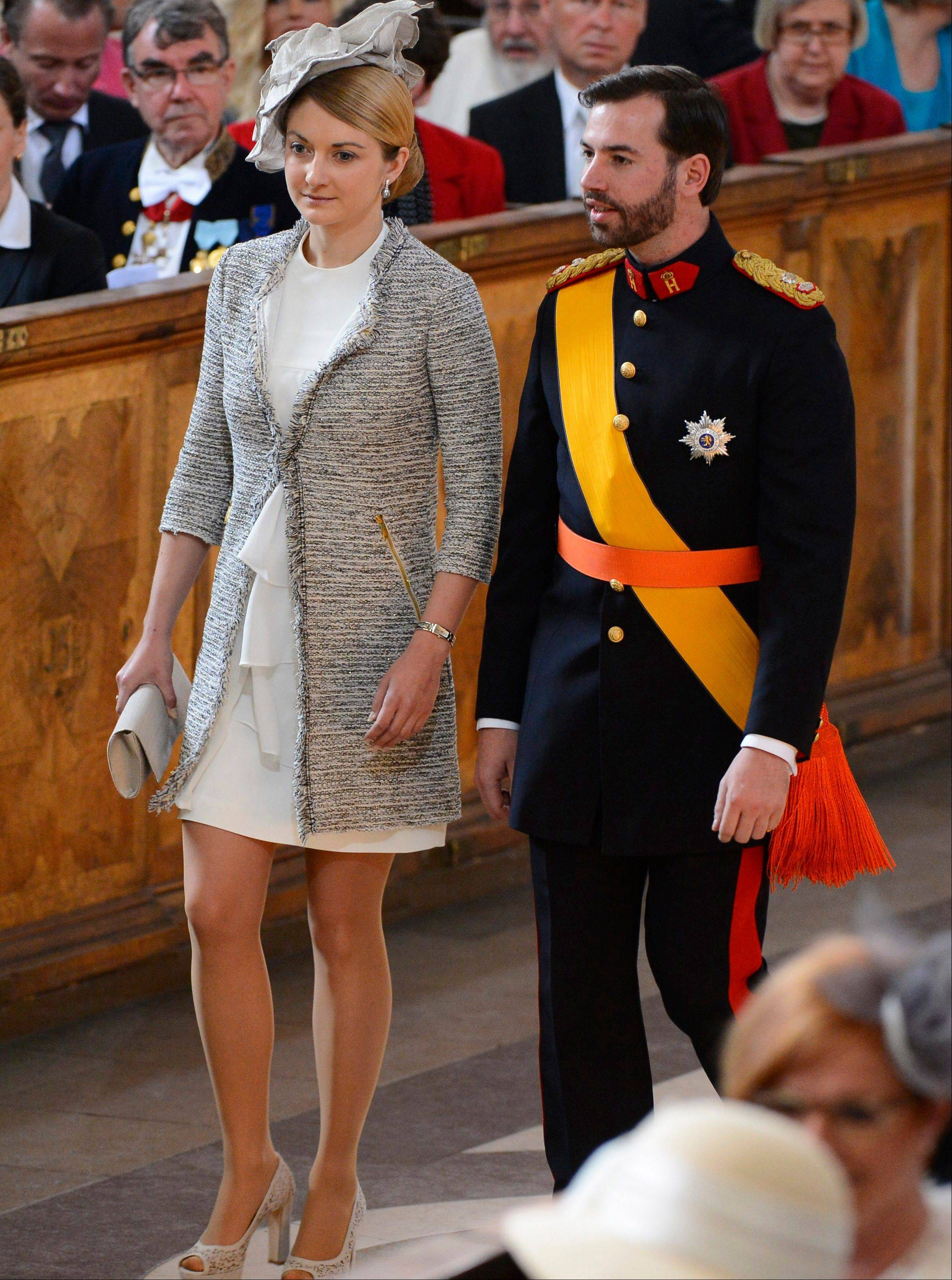 Prince Guillaume of Luxembourg, the heir to the throne, will marry Belgian Countess Stephanie de Lannoy during a two-day affair, including fireworks, concerts, a gala dinner at the grand ducal palace.