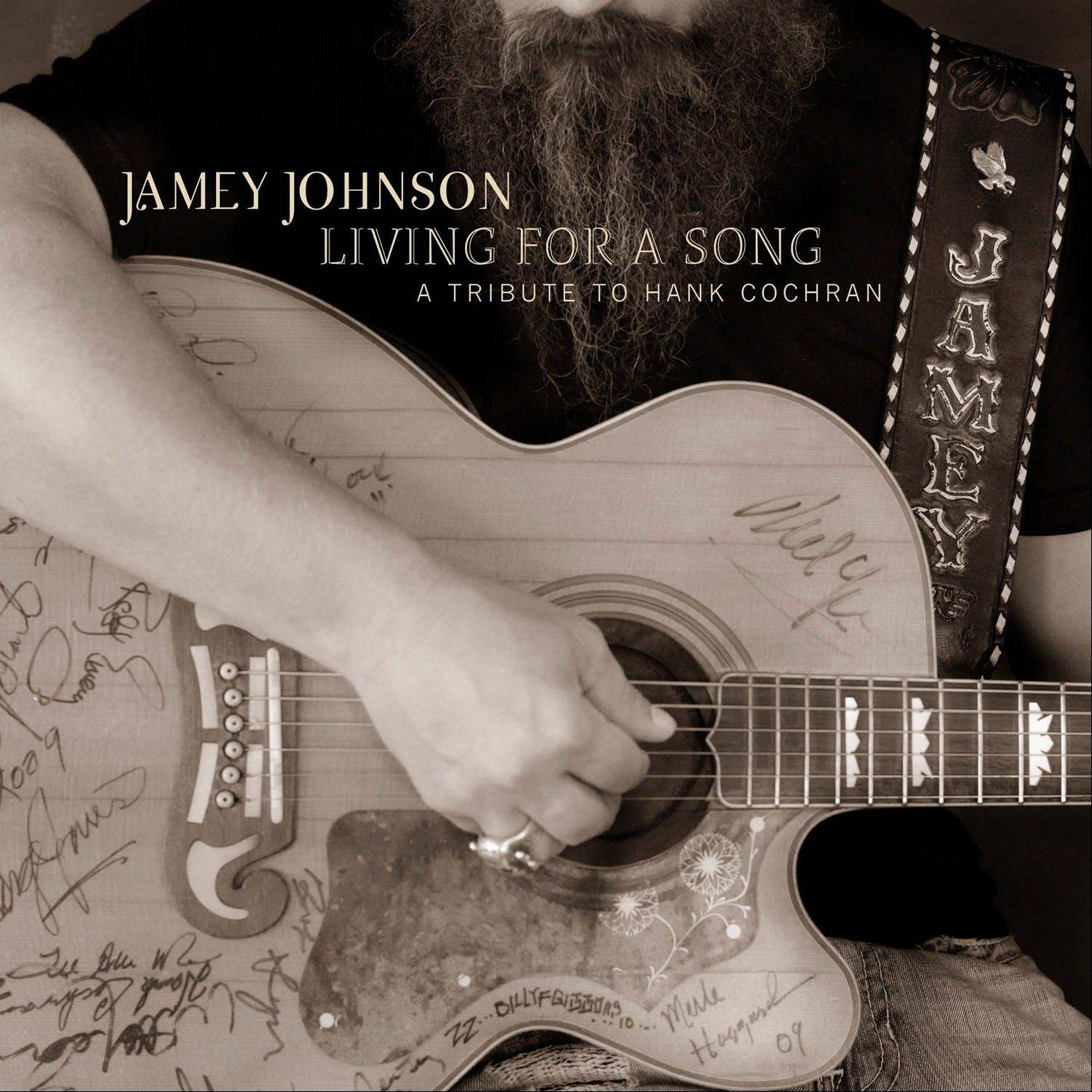 "Jamey Johnson, ""Living for a Song: Tribute to Hank Cochran"""